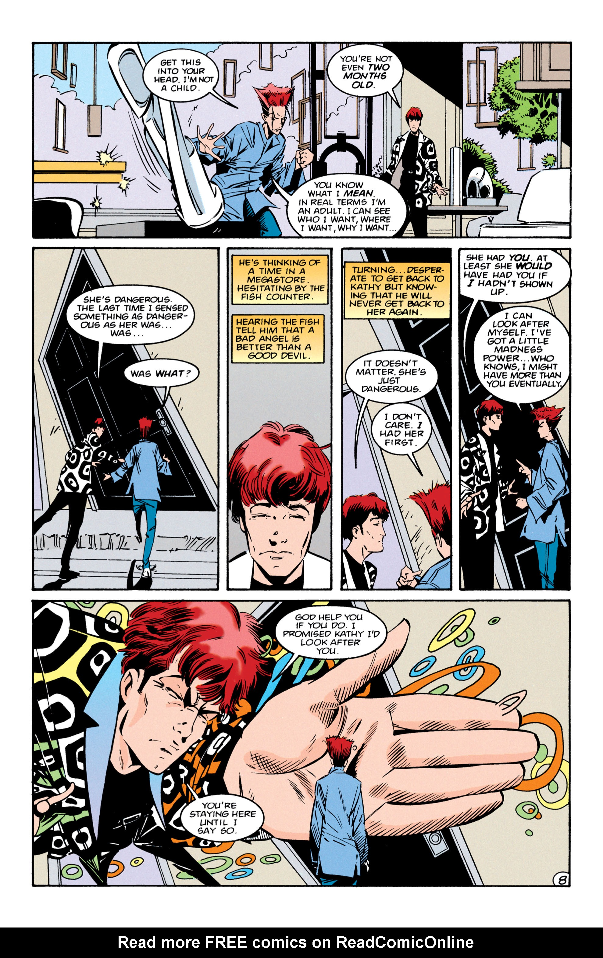 Read online Shade, the Changing Man comic -  Issue #56 - 9