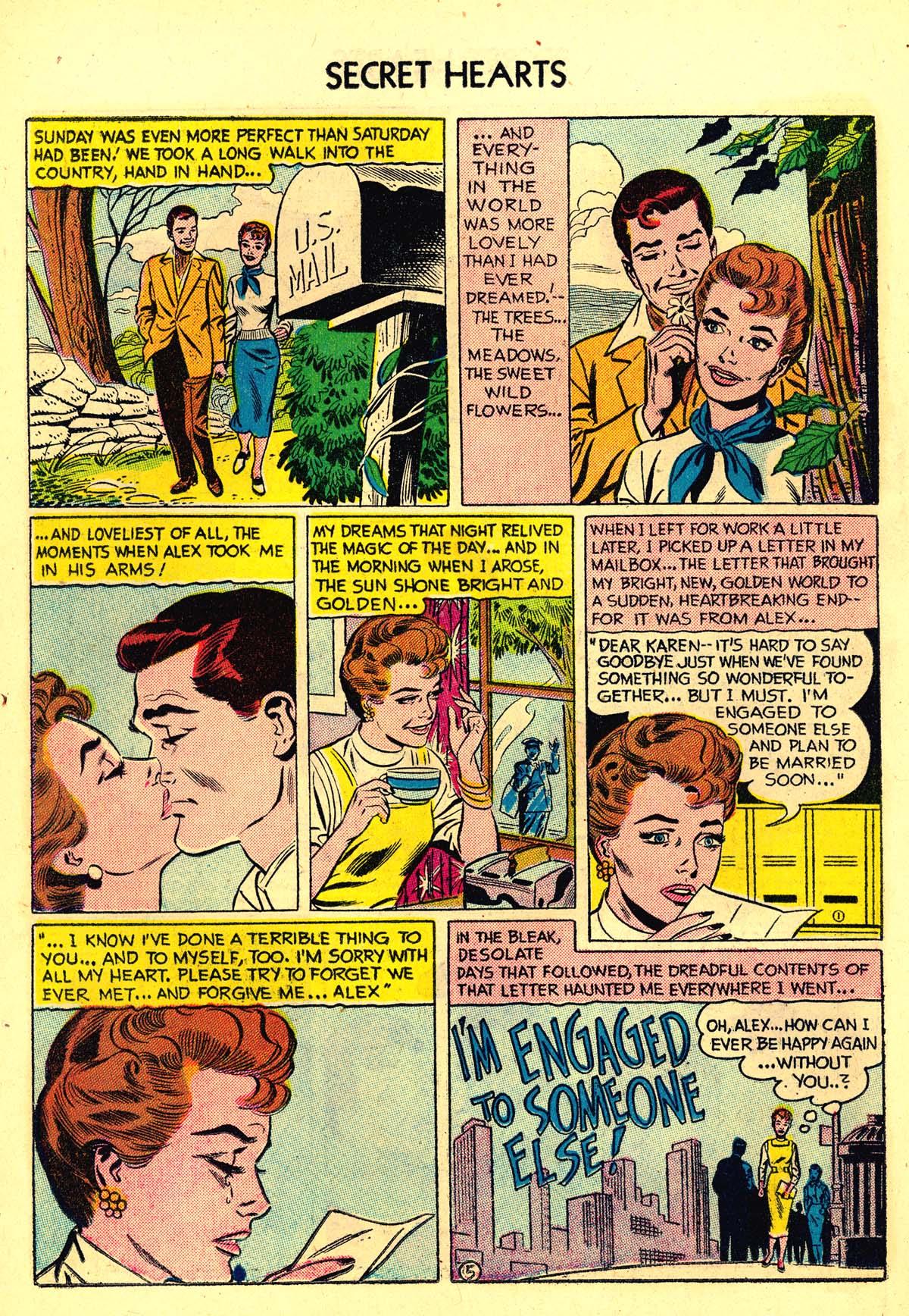 Read online Secret Hearts comic -  Issue #34 - 14