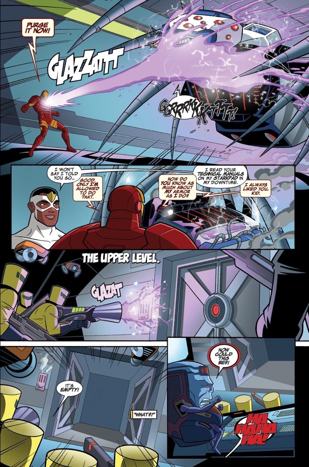 Read online Marvel Universe Avengers Assemble Season 2 comic -  Issue #1 - 32