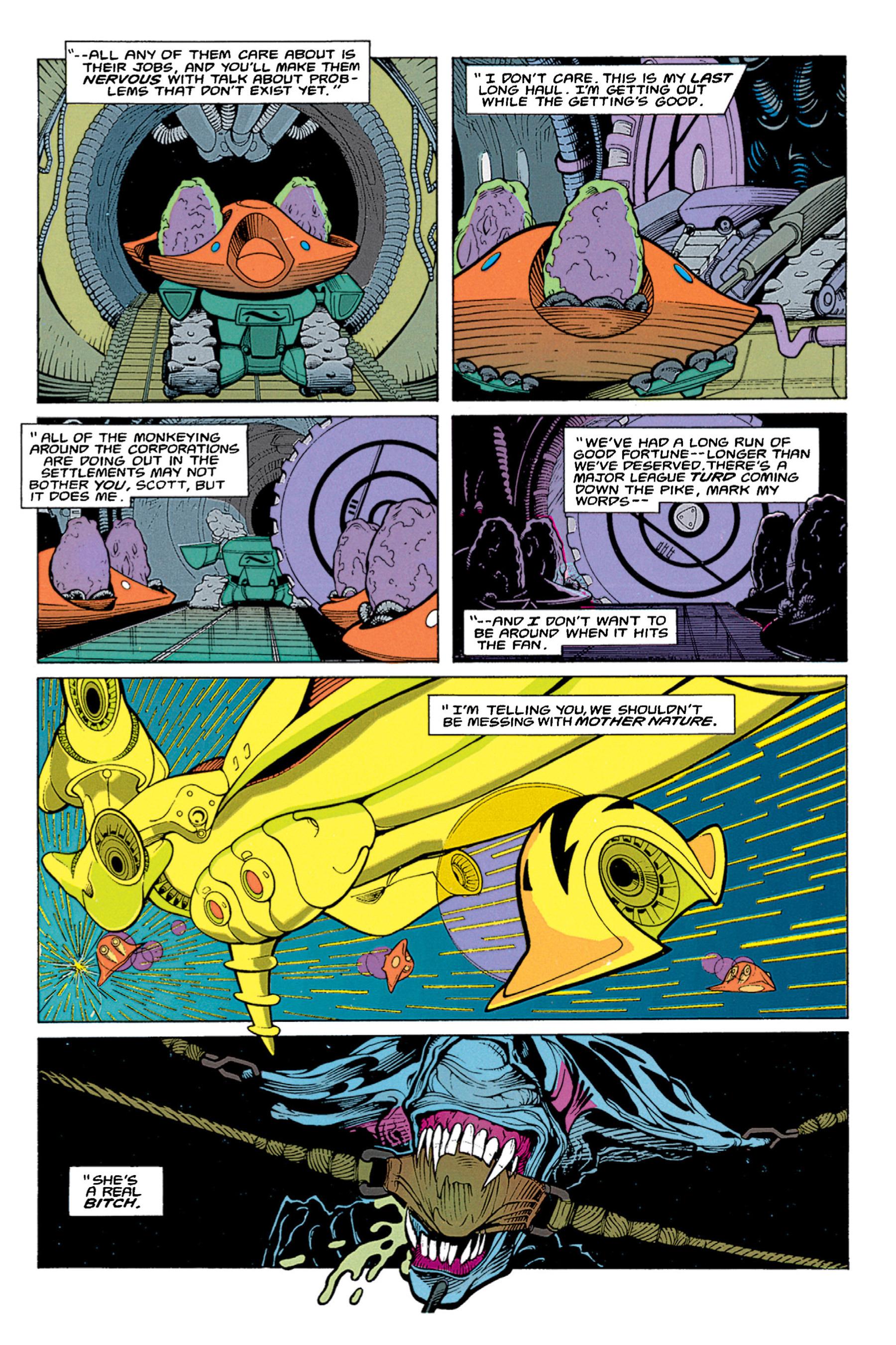 Read online Aliens vs. Predator Omnibus comic -  Issue # _TPB 1 Part 1 - 16