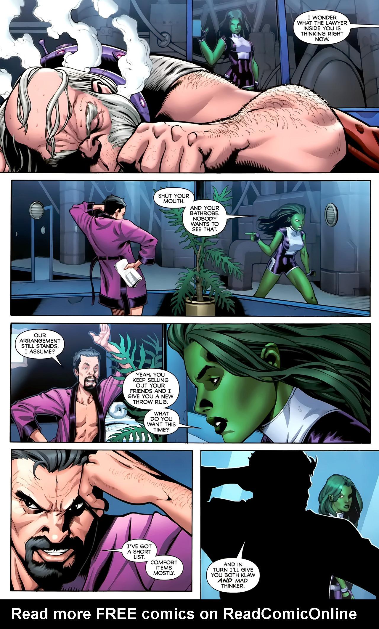 Read online She-Hulks comic -  Issue #3 - 8