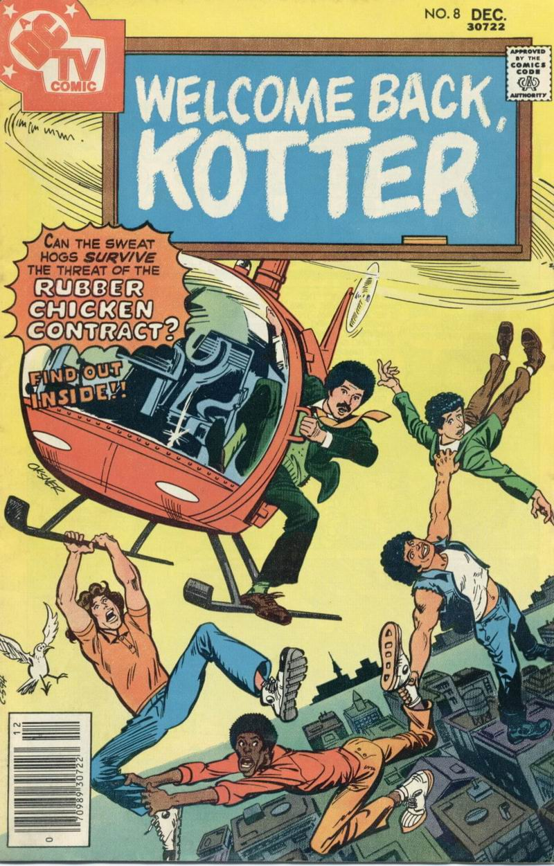 Welcome Back, Kotter issue 8 - Page 1