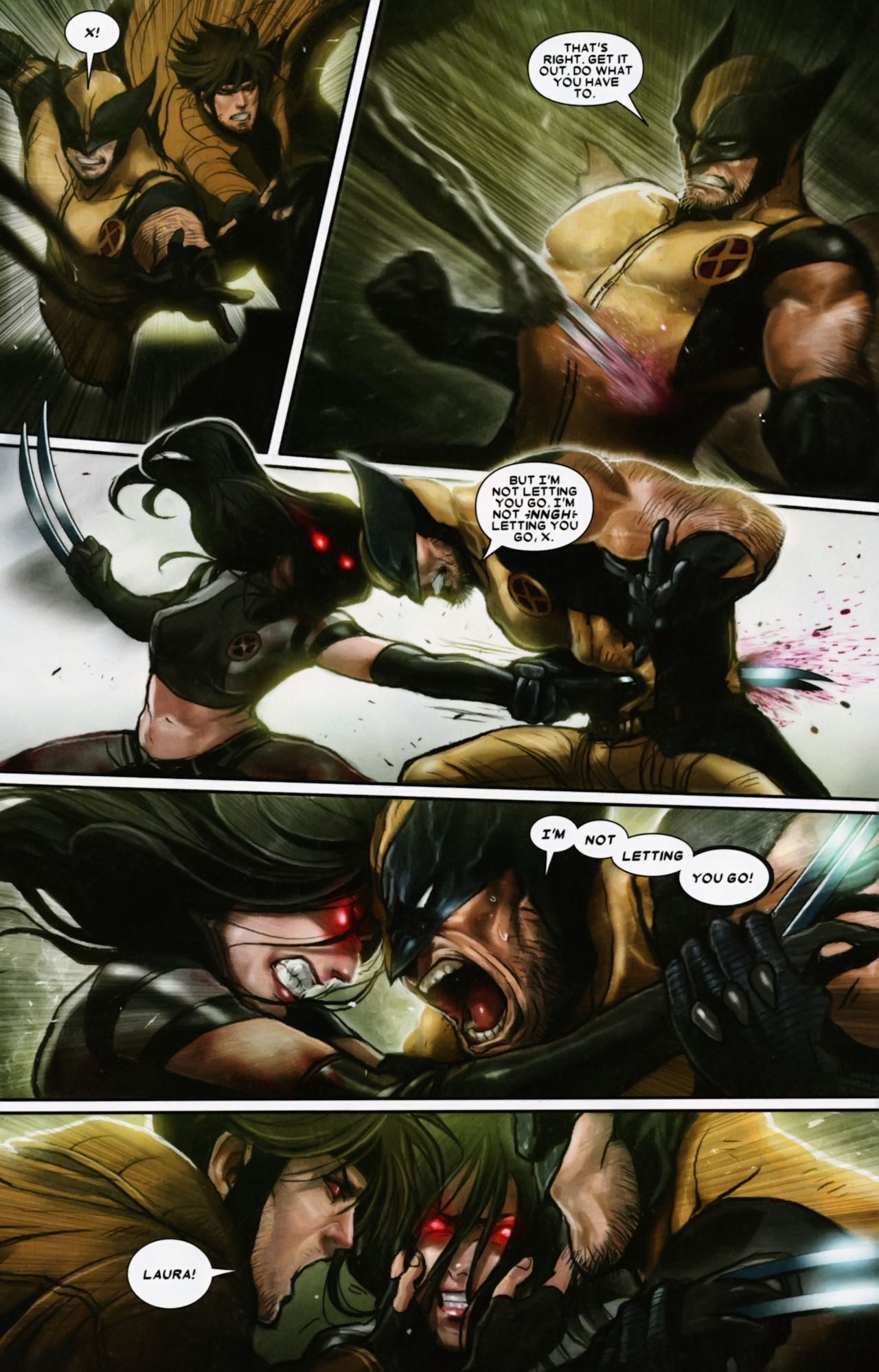 Read online X-23 (2010) comic -  Issue #12 - 5