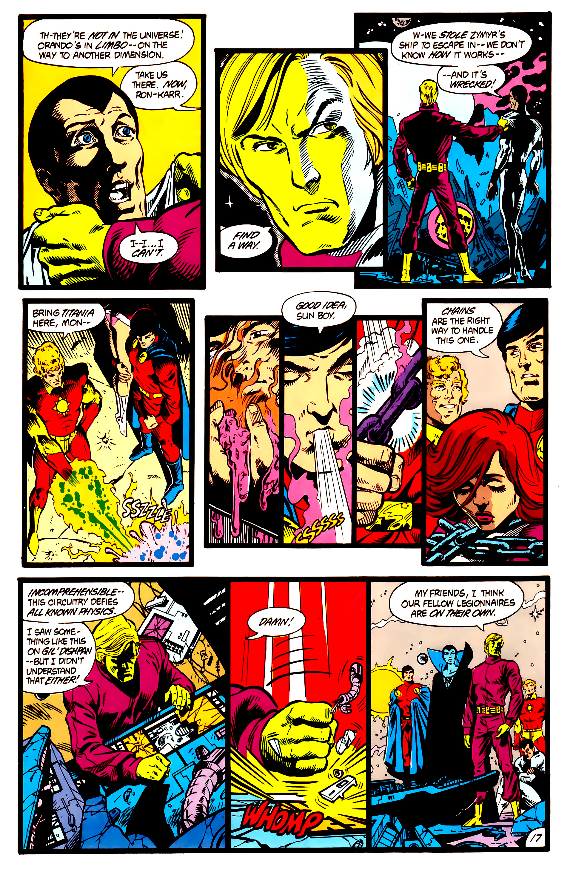 Legion of Super-Heroes (1984) 5 Page 18