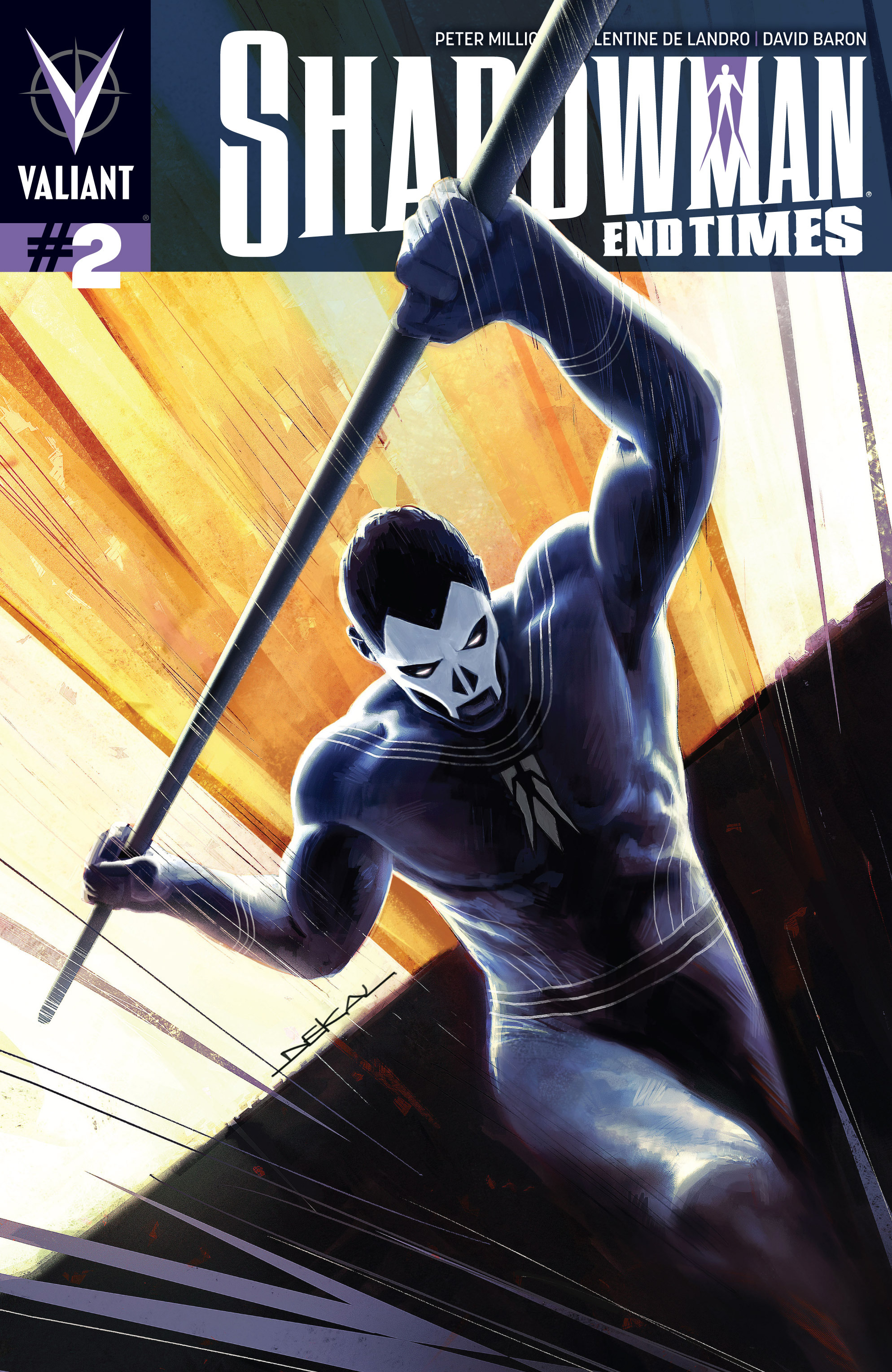 Read online Shadowman: End Times comic -  Issue #2 - 1