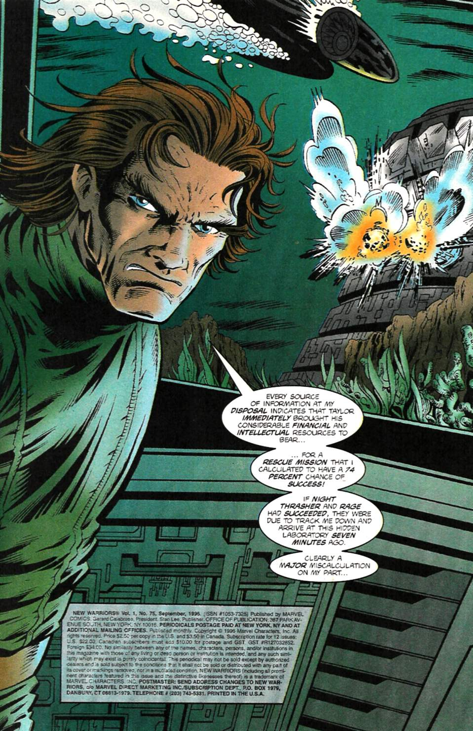 The New Warriors Issue #75 #79 - English 4