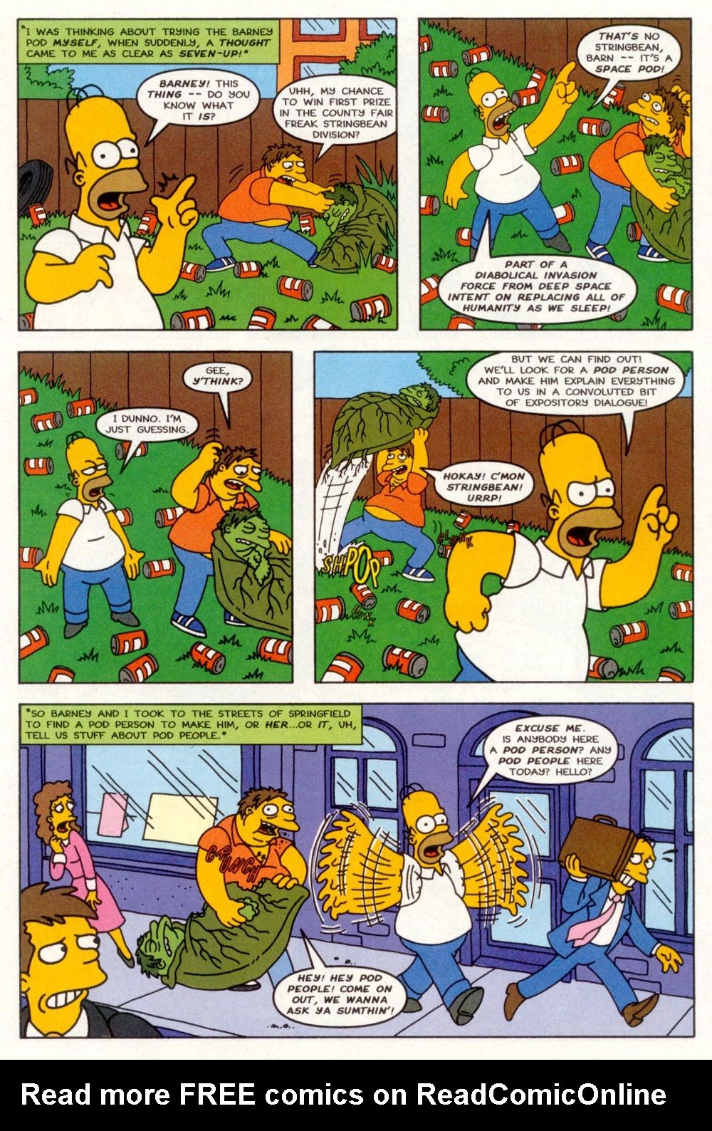 Read online Treehouse of Horror comic -  Issue #3 - 8