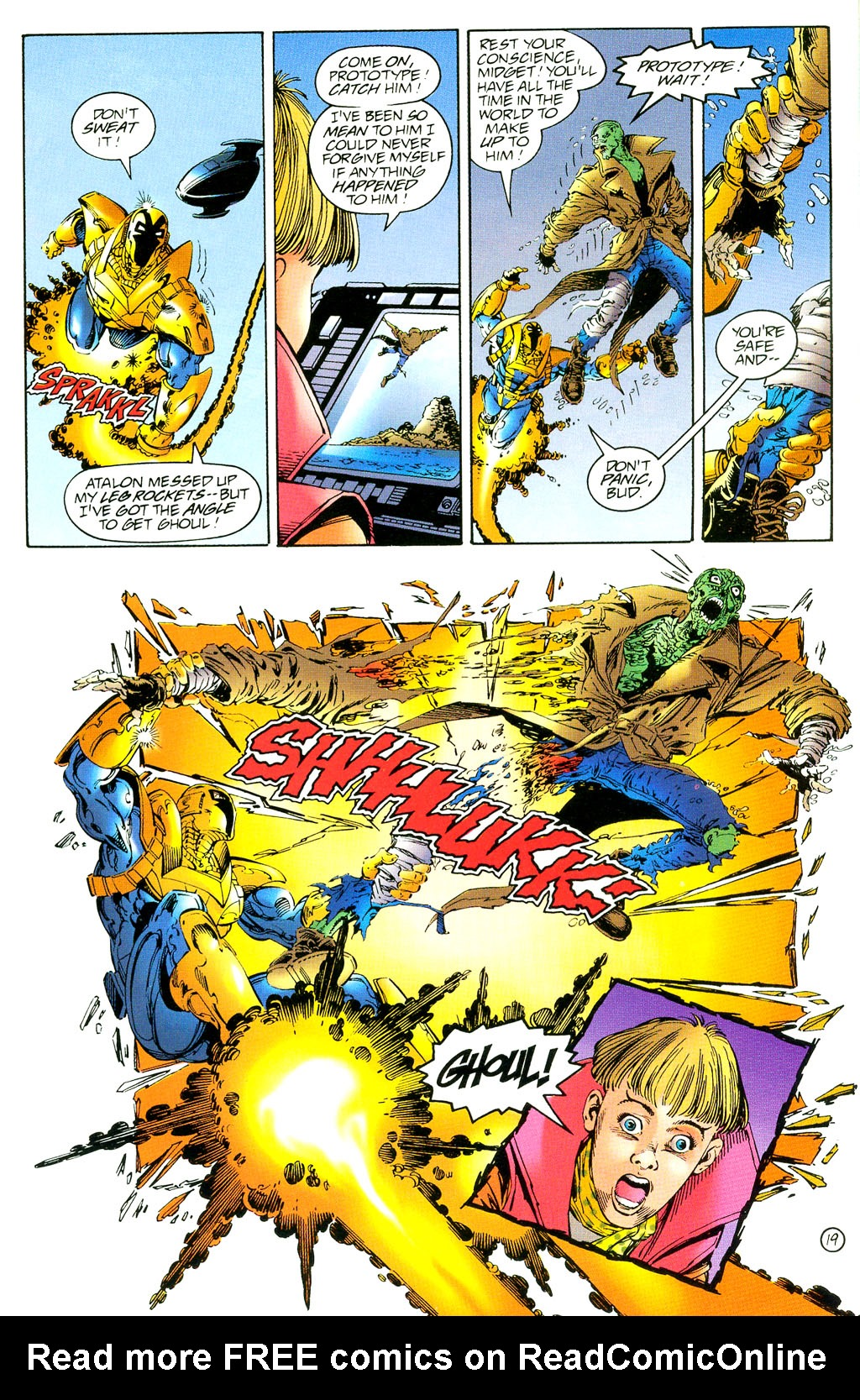 Read online UltraForce (1994) comic -  Issue #3 - 19