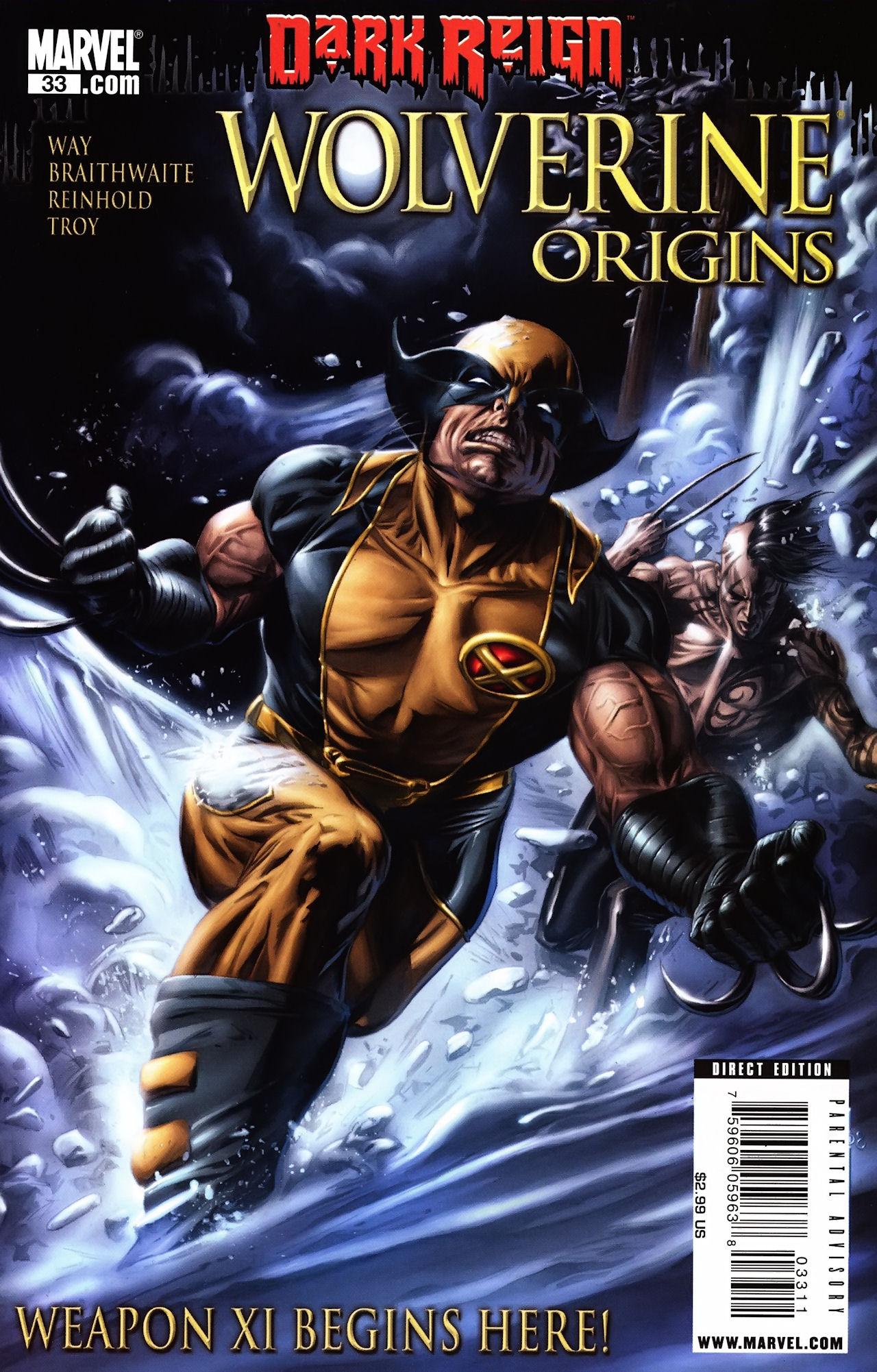 Read online Wolverine: Origins comic -  Issue #33 - 1