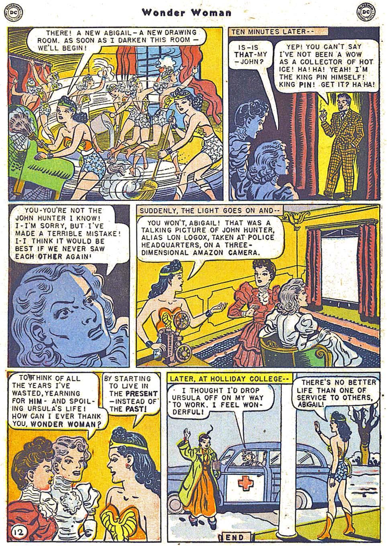 Read online Wonder Woman (1942) comic -  Issue #38 - 14