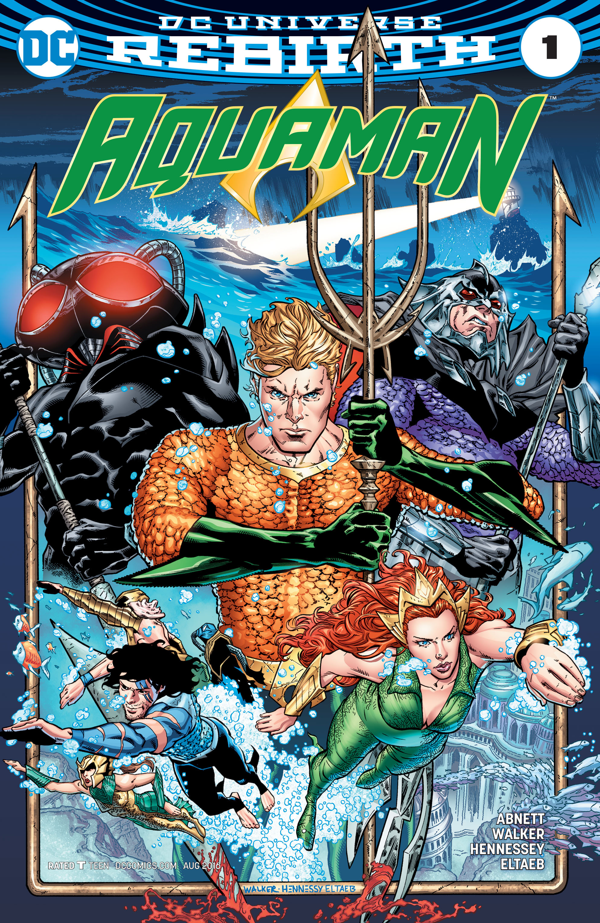 Read online Aquaman (2016) comic -  Issue #1 - 1