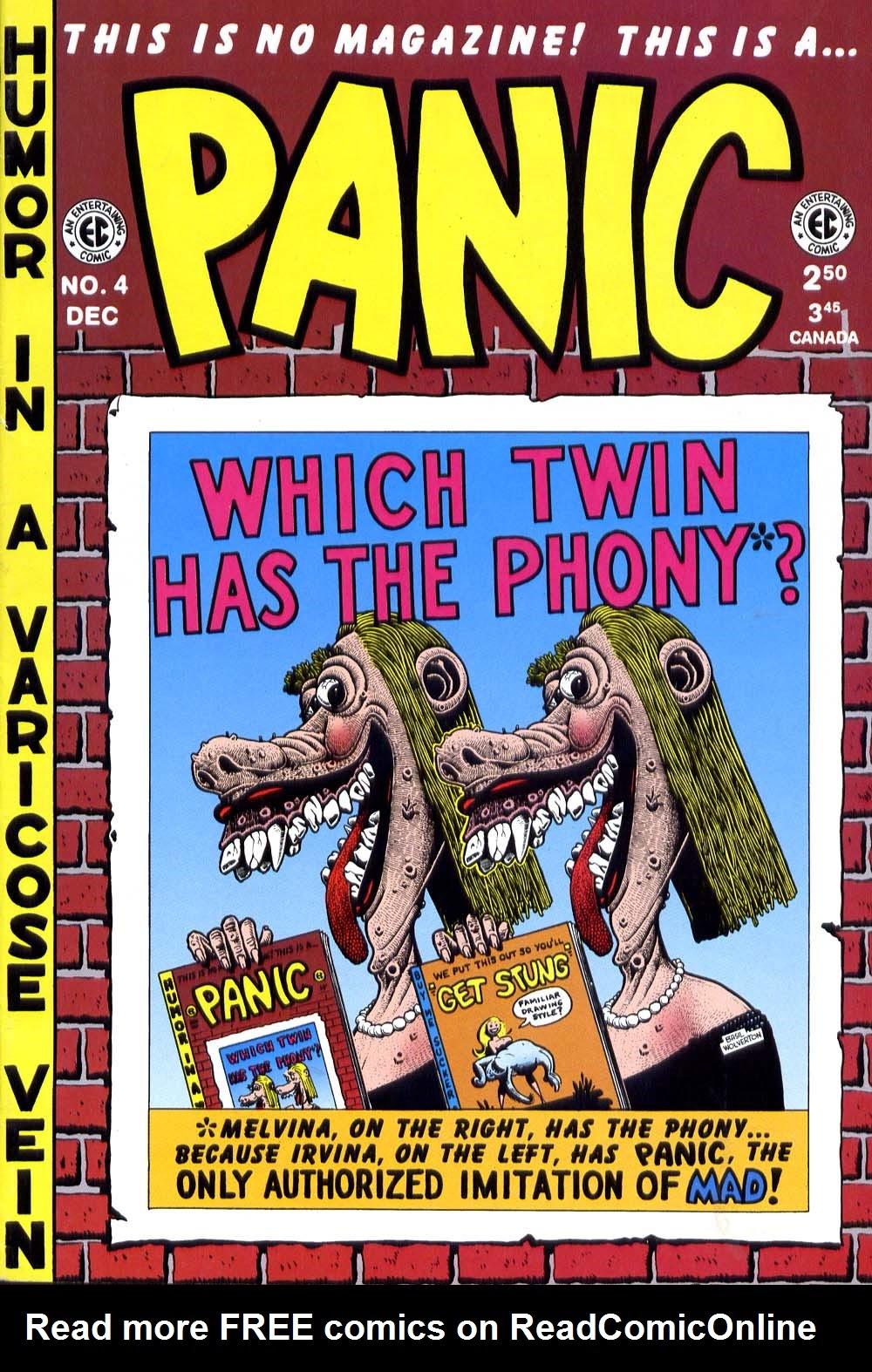 Panic 4 Page 1