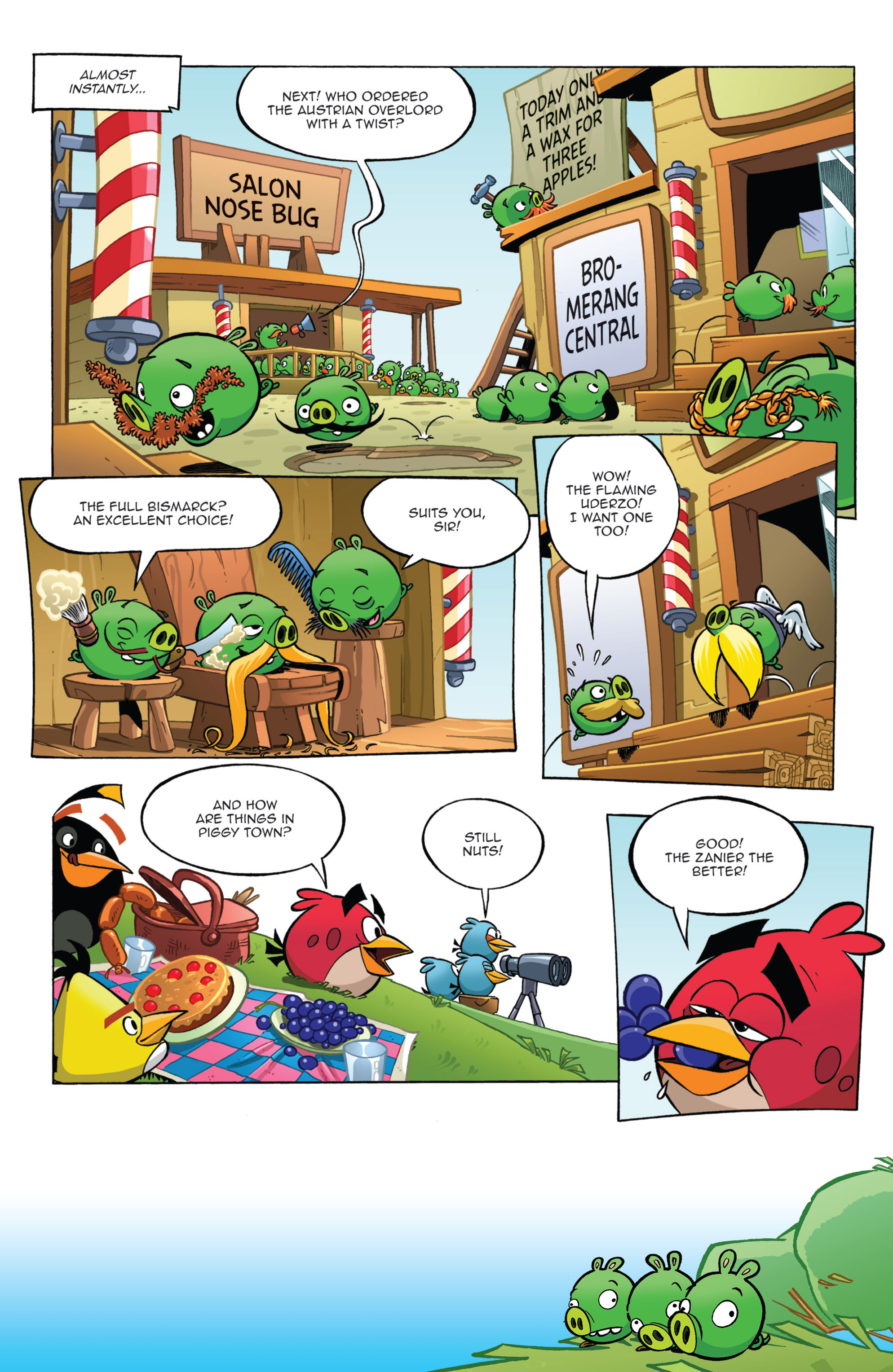 Read online Angry Birds Comics (2014) comic -  Issue #11 - 9