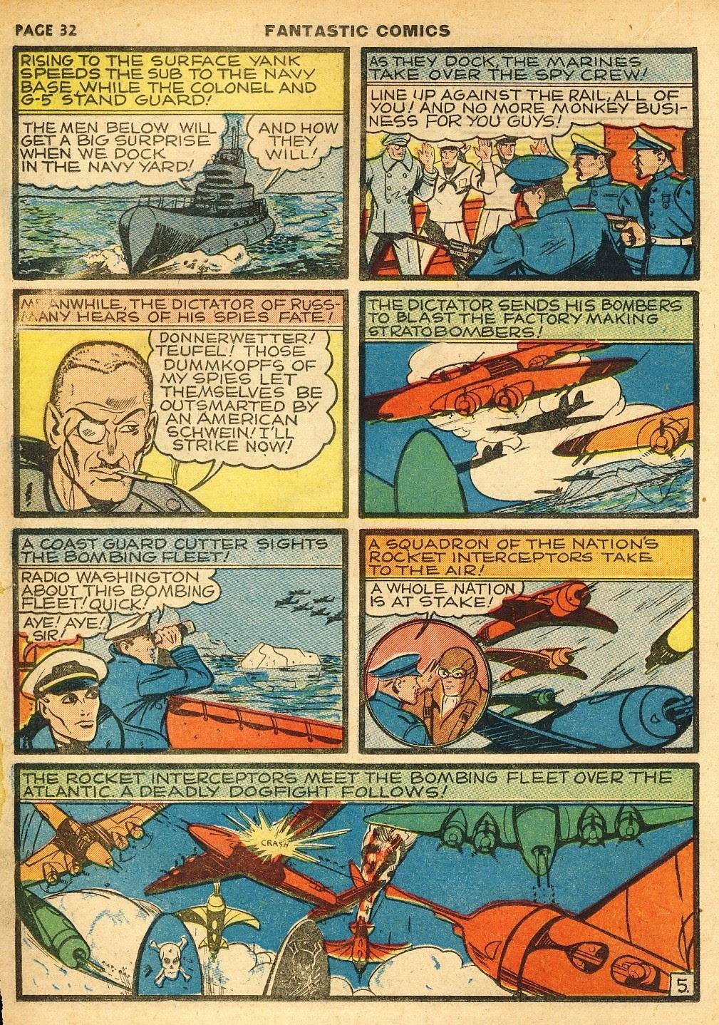 Read online Fantastic Comics comic -  Issue #10 - 33