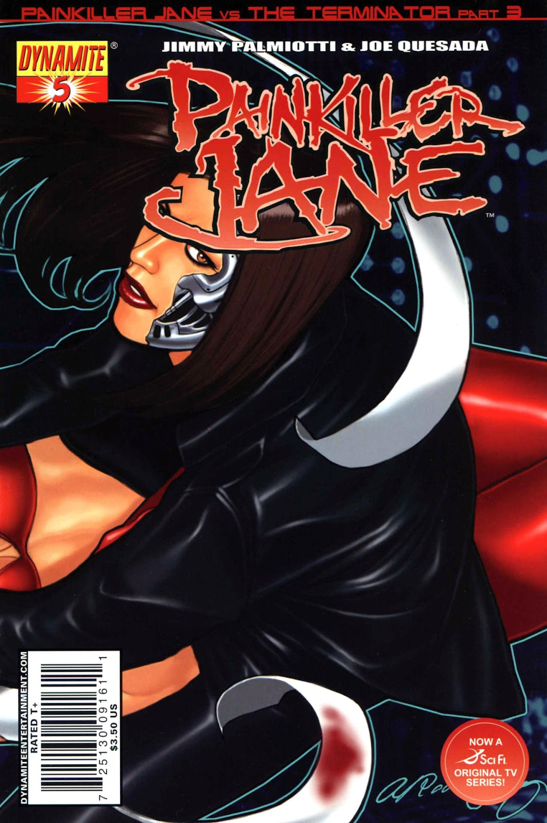 Painkiller Jane (2007) issue 5 - Page 2