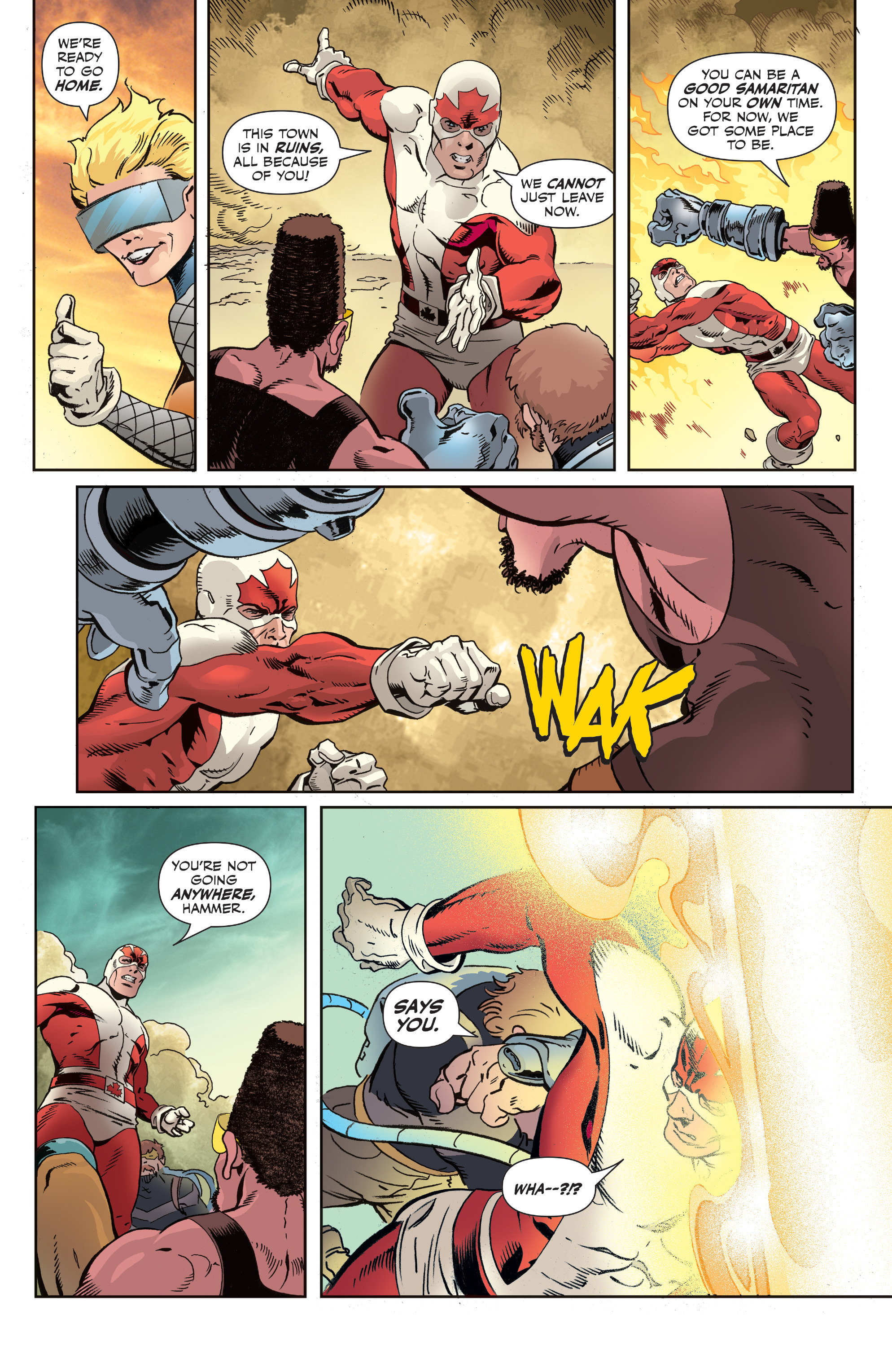 Read online All-New Classic Captain Canuck comic -  Issue #2 - 20