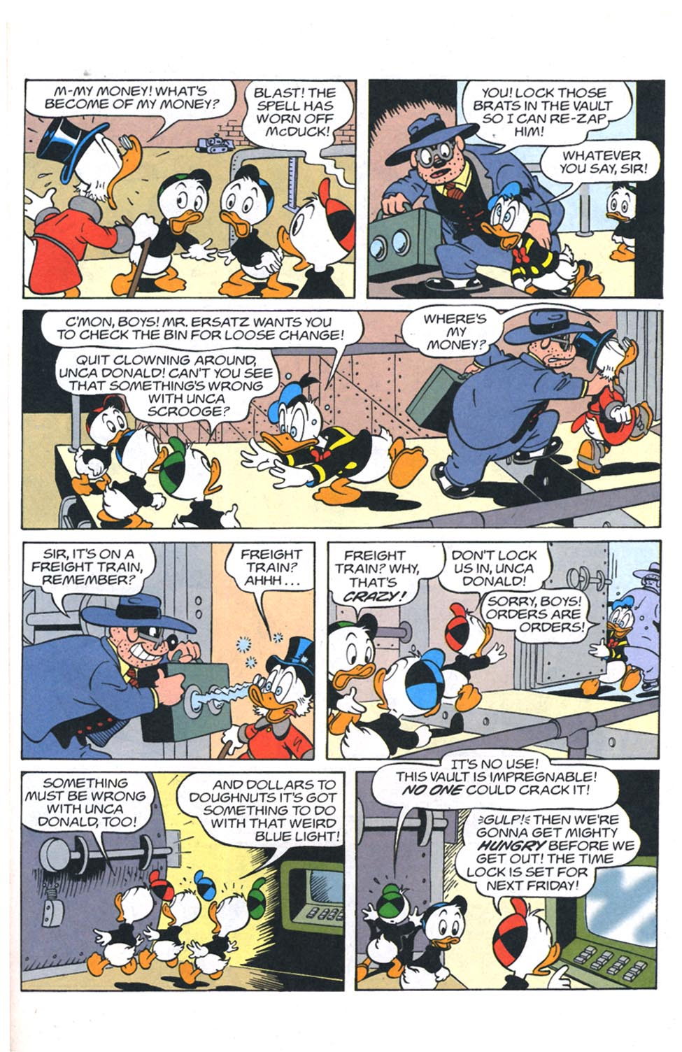 Read online Uncle Scrooge (1953) comic -  Issue #301 - 18