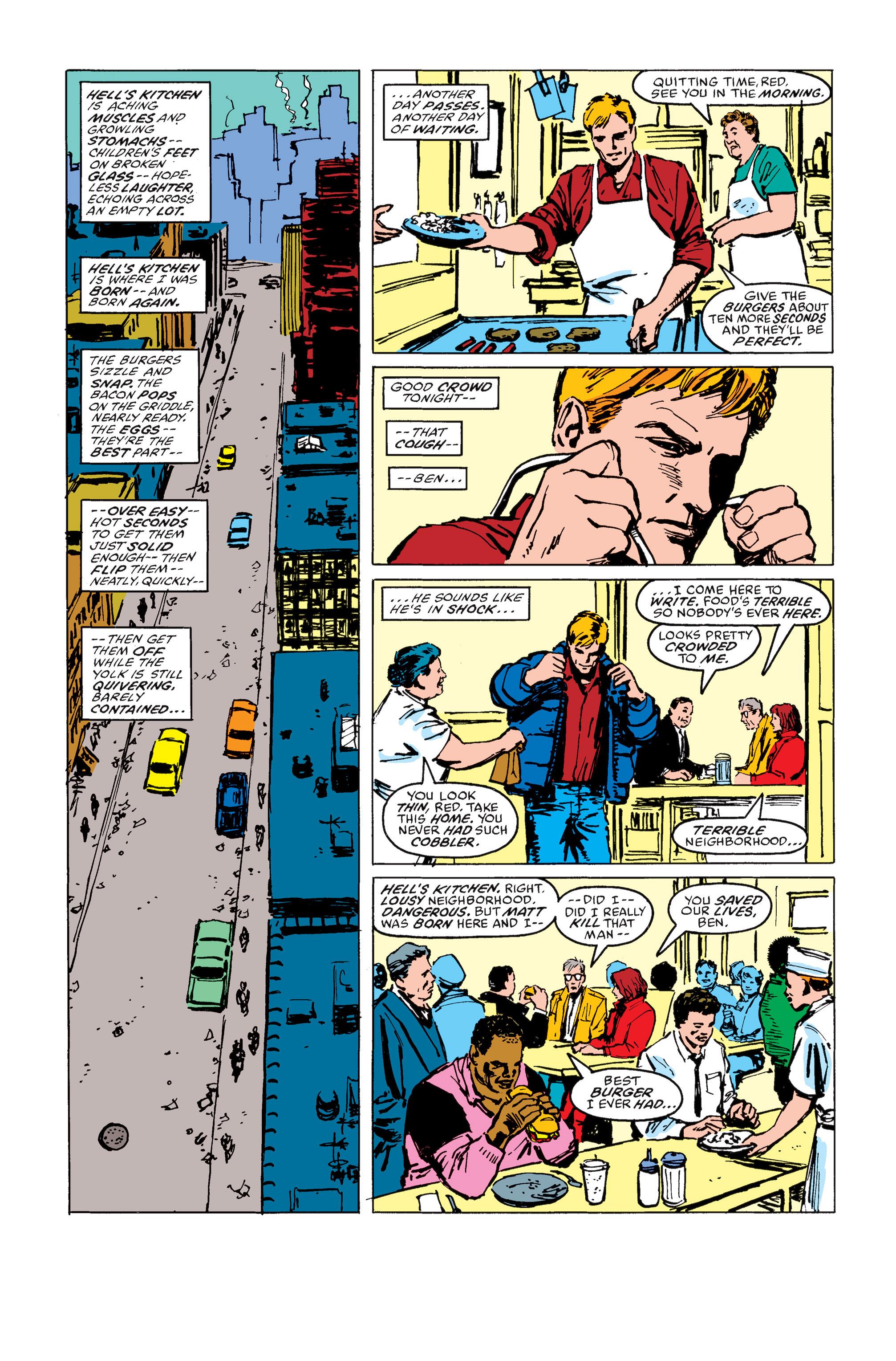 Read online Daredevil: Born Again comic -  Issue # Full - 163