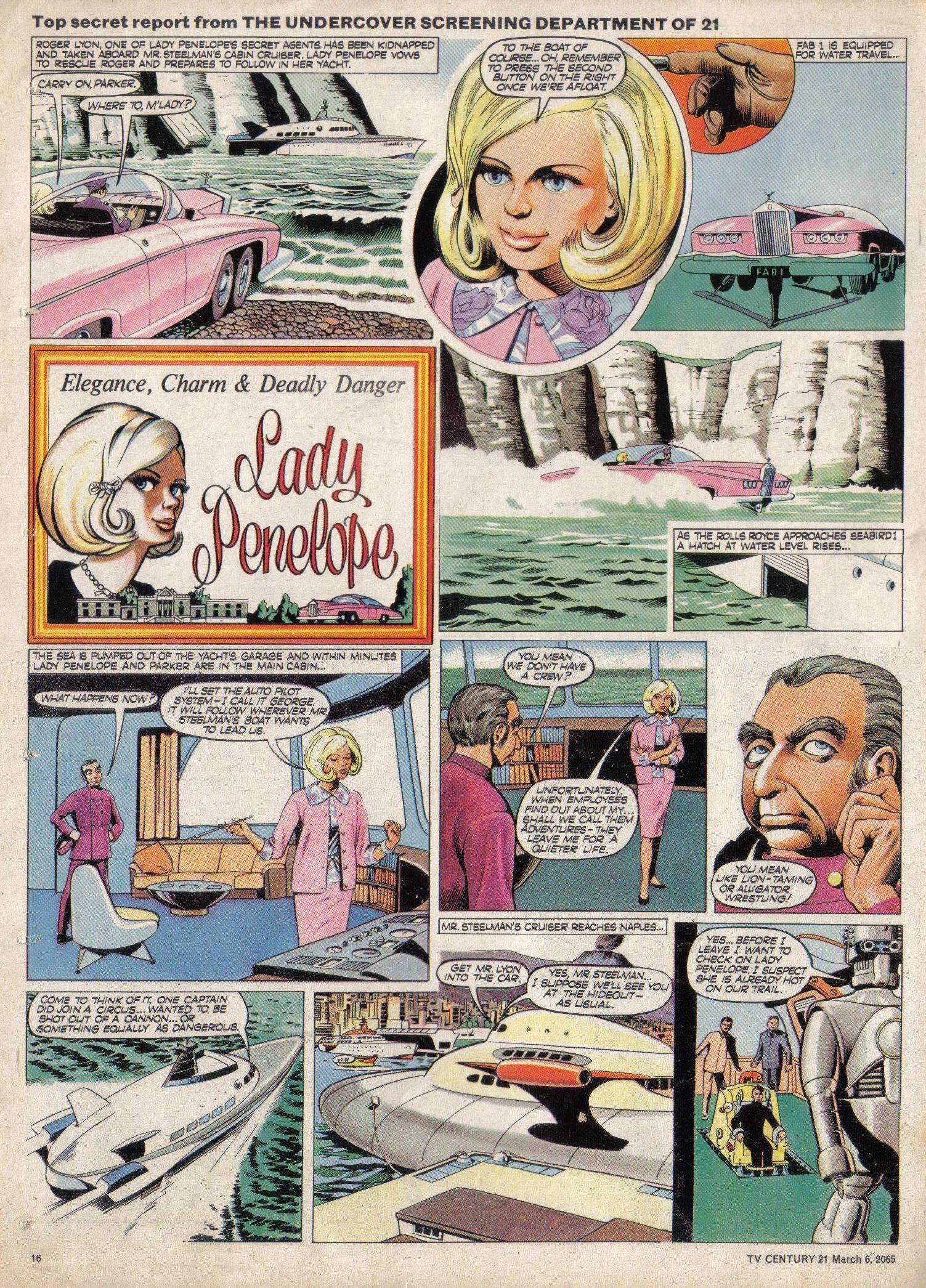 Read online TV Century 21 (TV 21) comic -  Issue #7 - 15