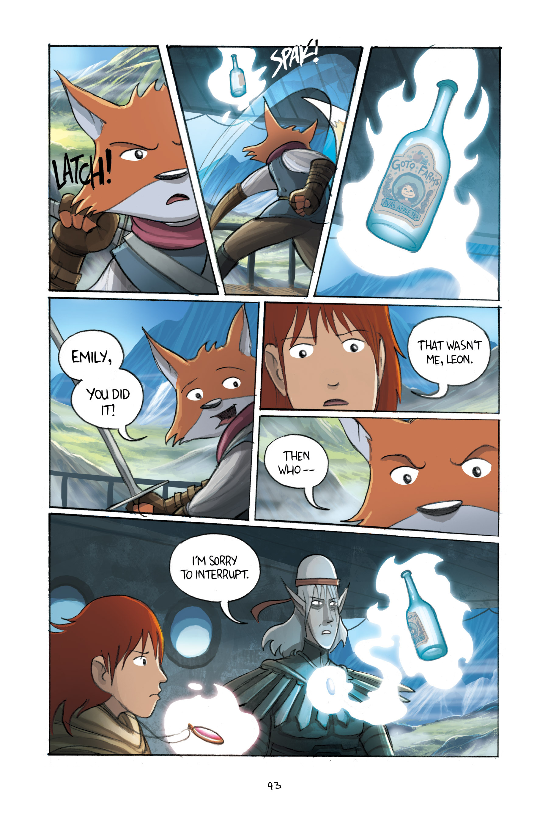 Read online Amulet comic -  Issue #3 - 91