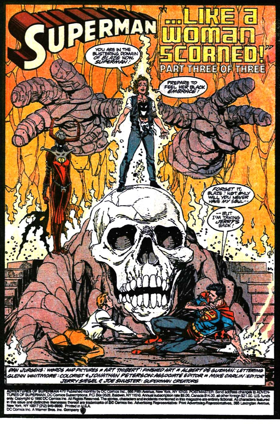 Read online Adventures of Superman (1987) comic -  Issue #470 - 2