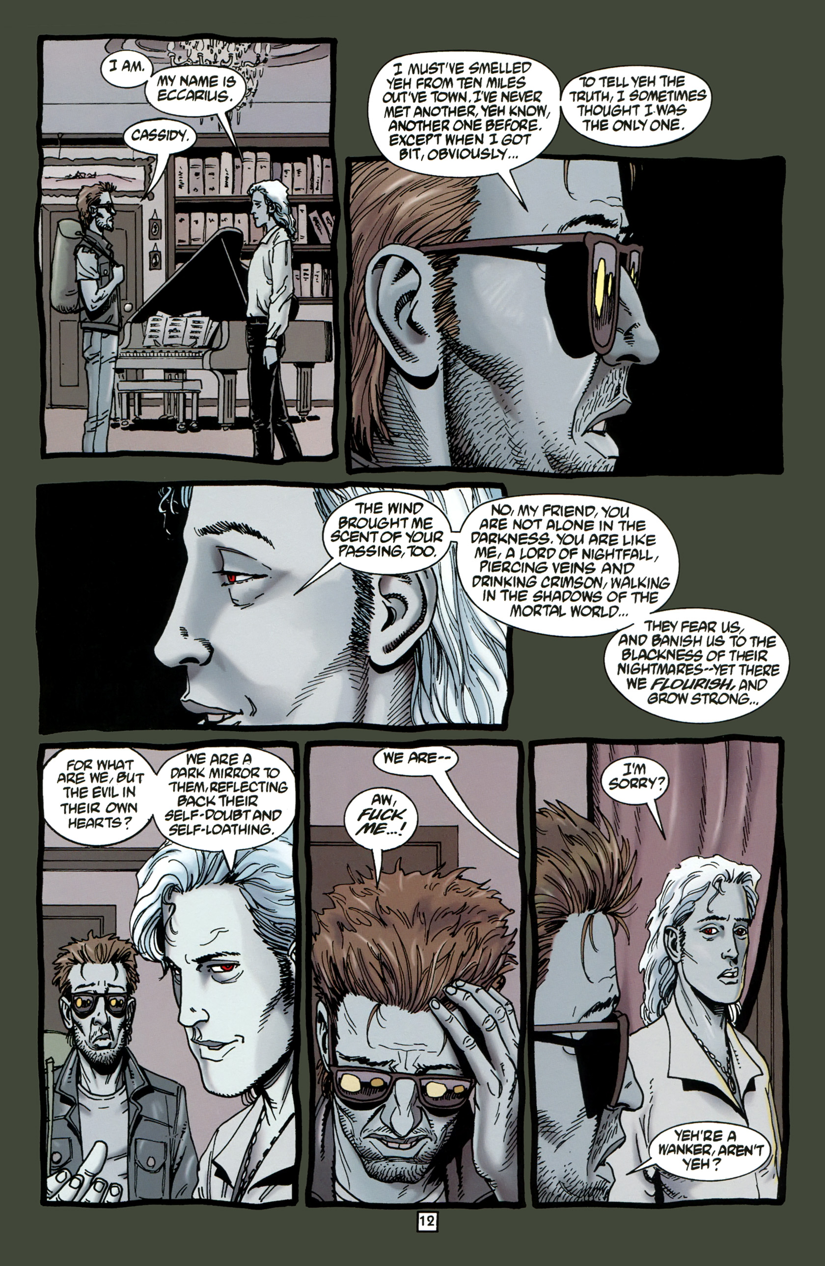 Read online Preacher Special: Cassidy : Blood and Whiskey comic -  Issue # Full - 14