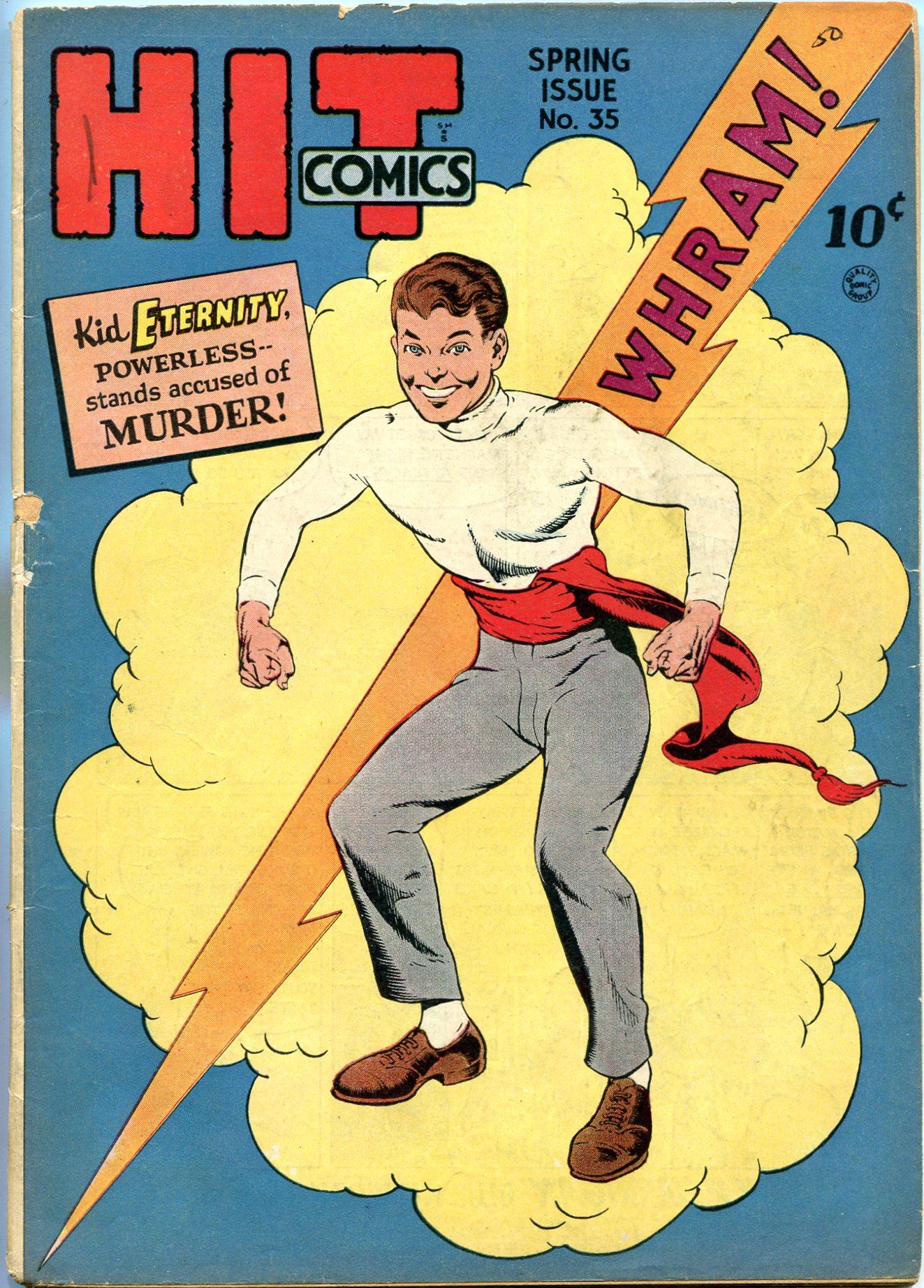 Read online Hit Comics comic -  Issue #35 - 1