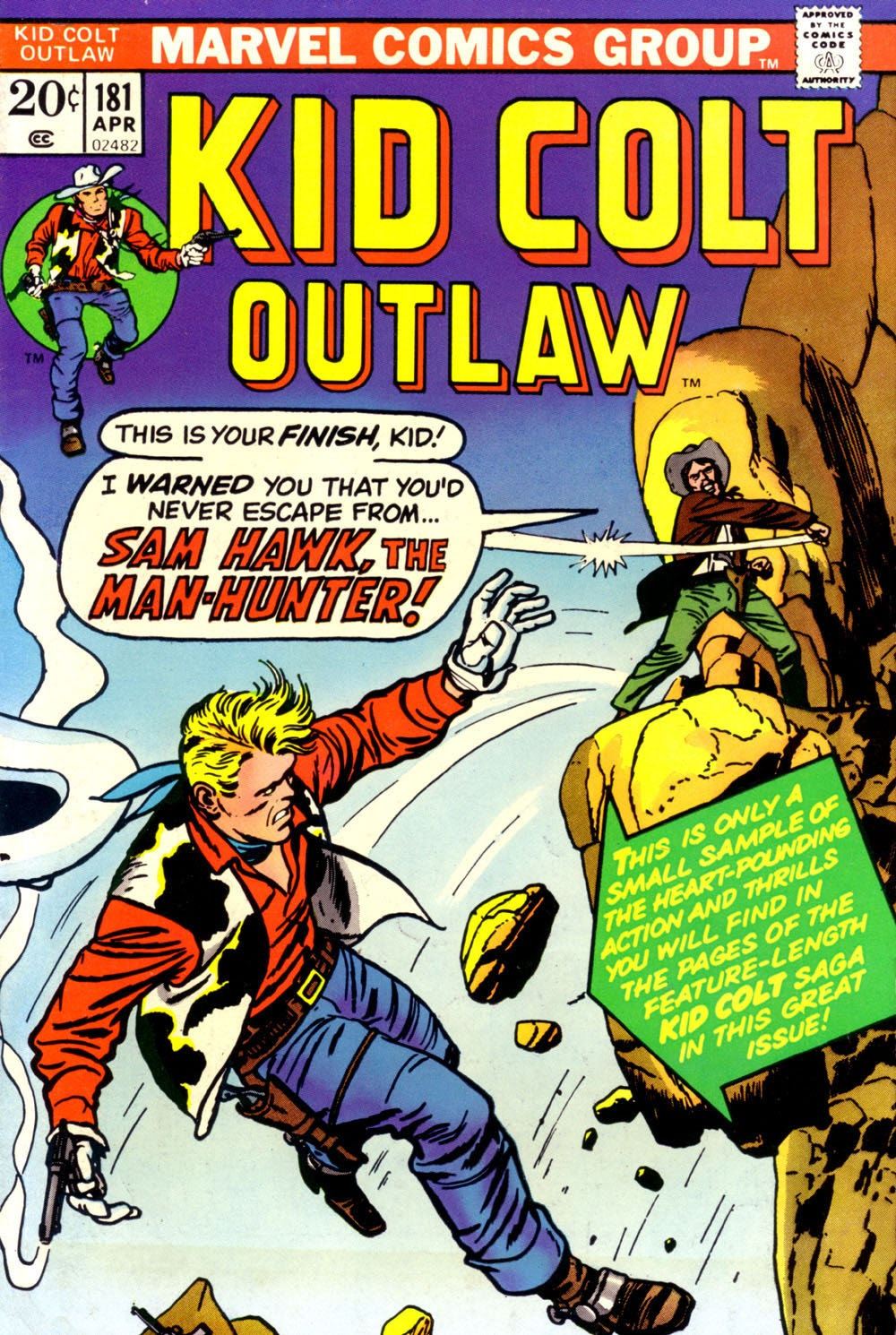 Kid Colt Outlaw issue 181 - Page 1