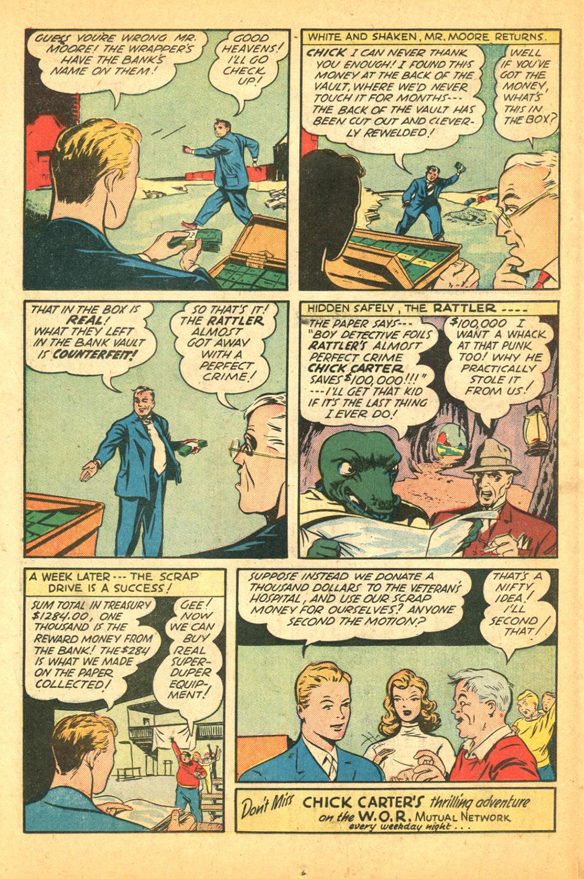 Read online Shadow Comics comic -  Issue #38 - 34