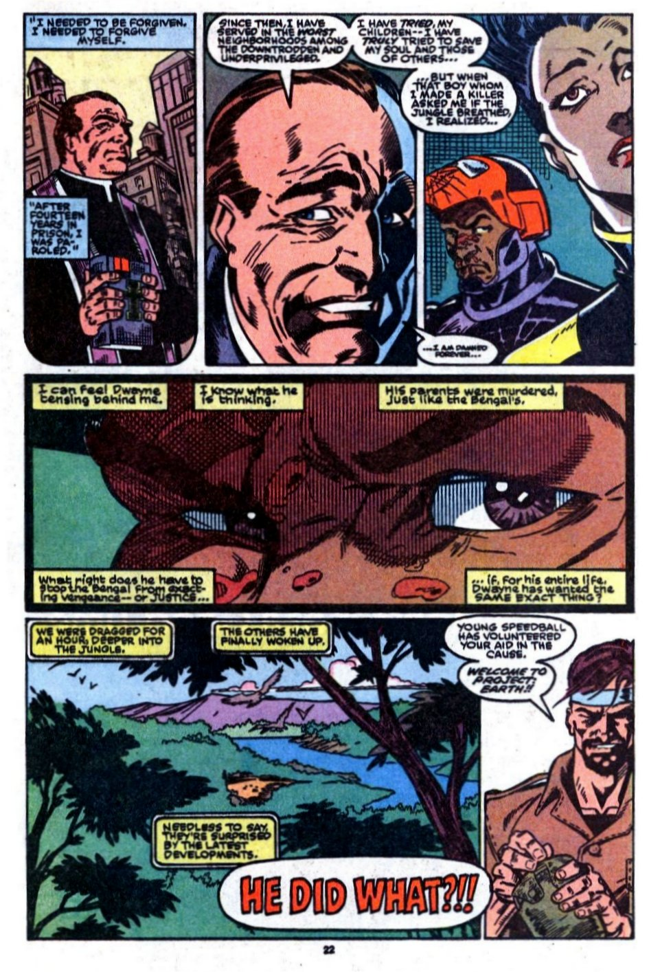 The New Warriors Issue #8 #12 - English 19