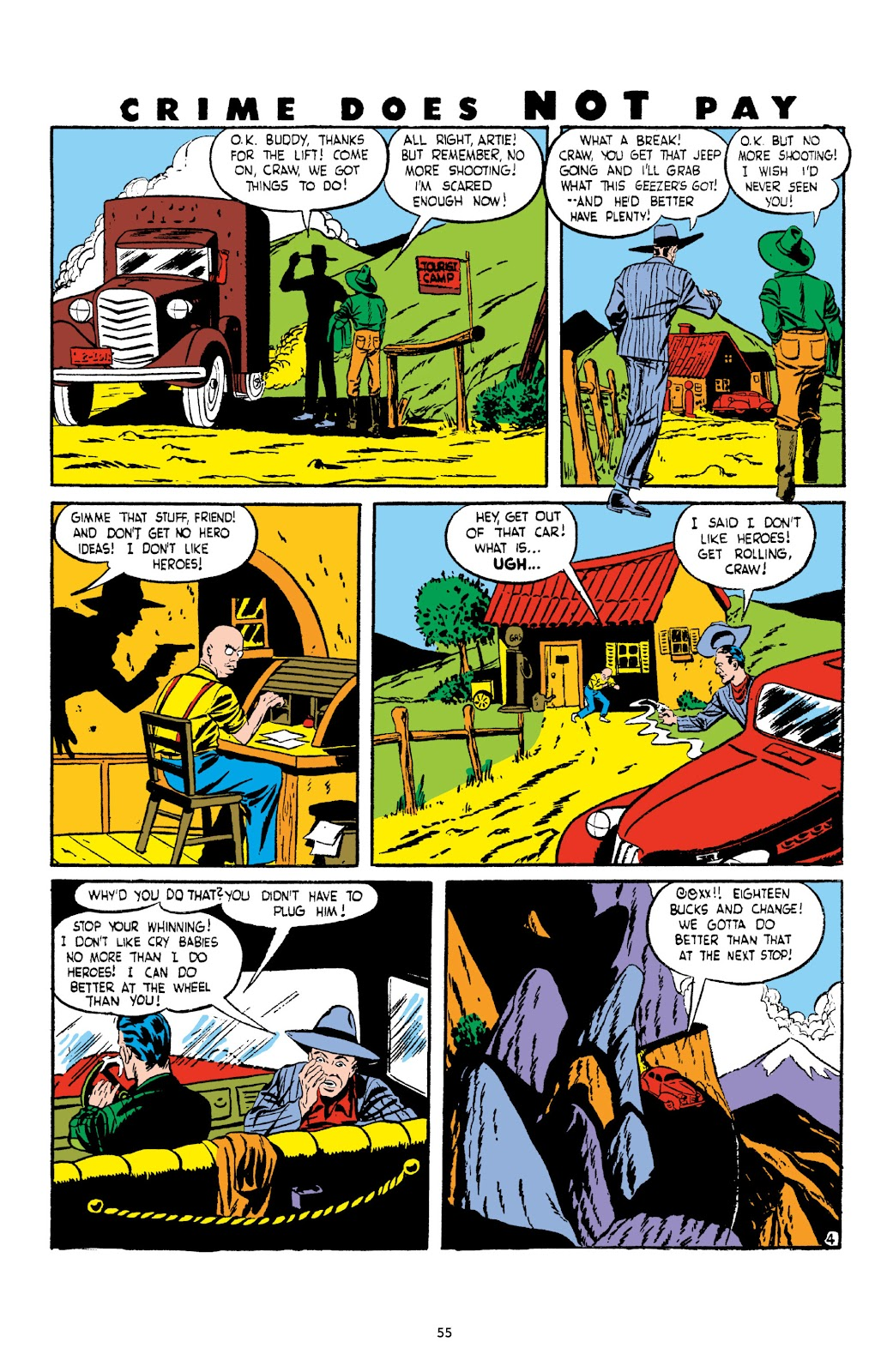 Read online Crime Does Not Pay Archives comic -  Issue # TPB 3 (Part 1) - 55
