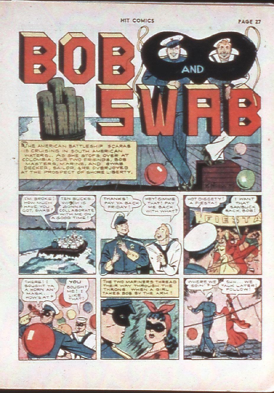 Read online Hit Comics comic -  Issue #10 - 29