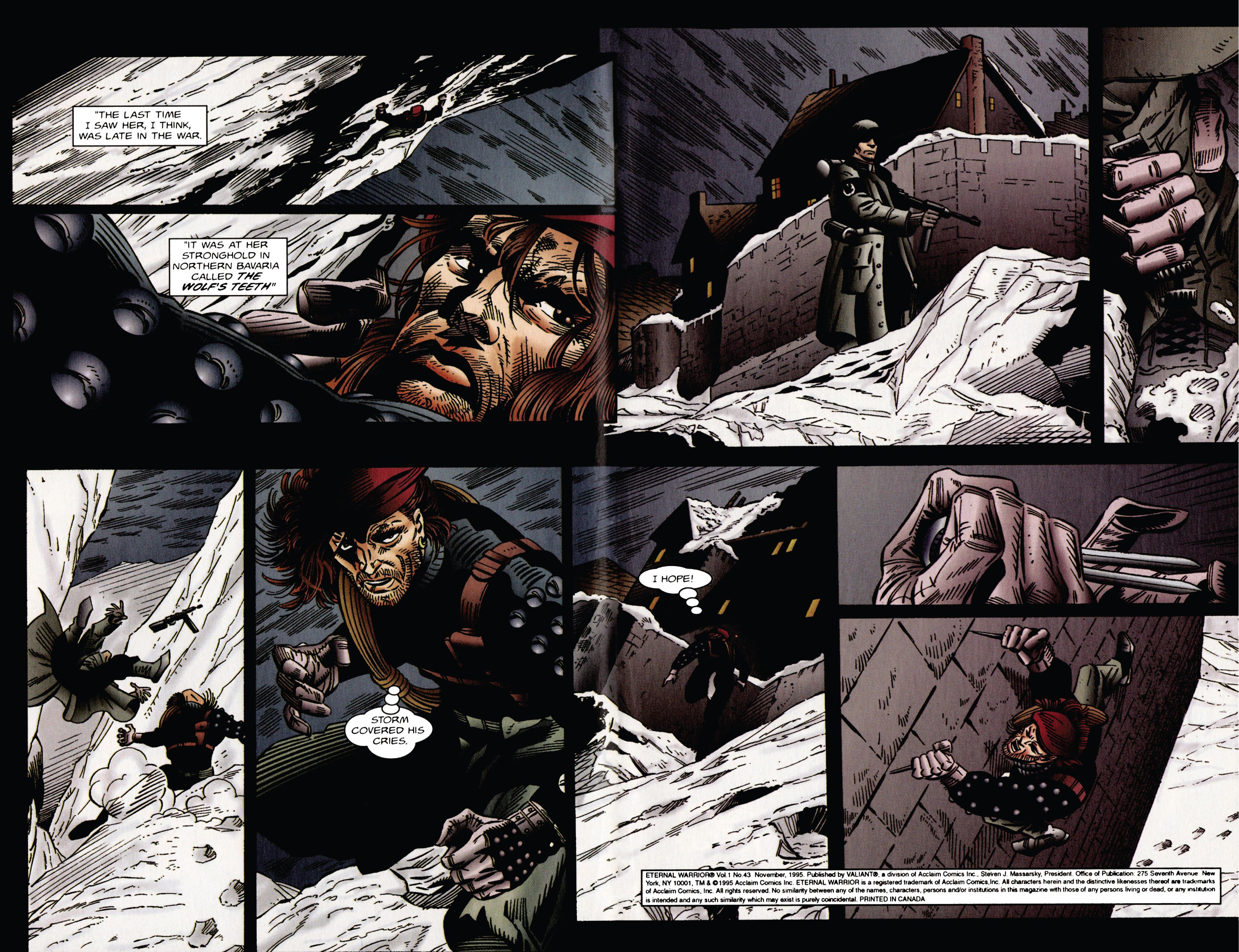 Read online Eternal Warrior (1992) comic -  Issue #43 - 3