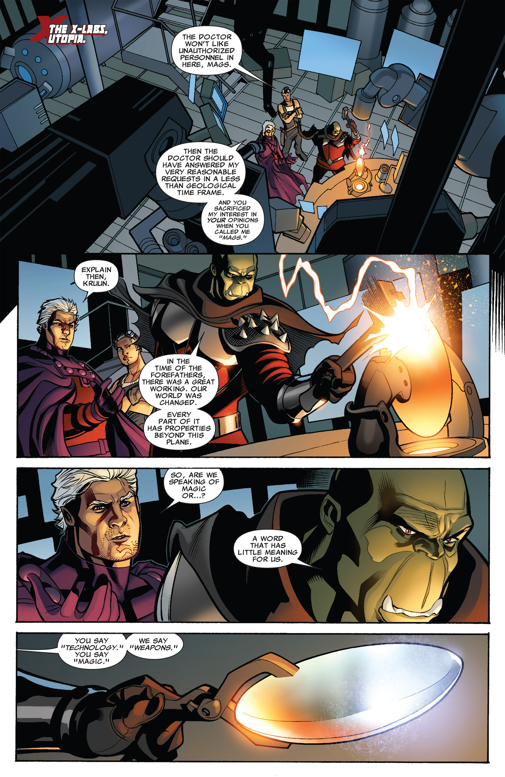 Read online Uncanny X-Men (1963) comic -  Issue #536 - 17