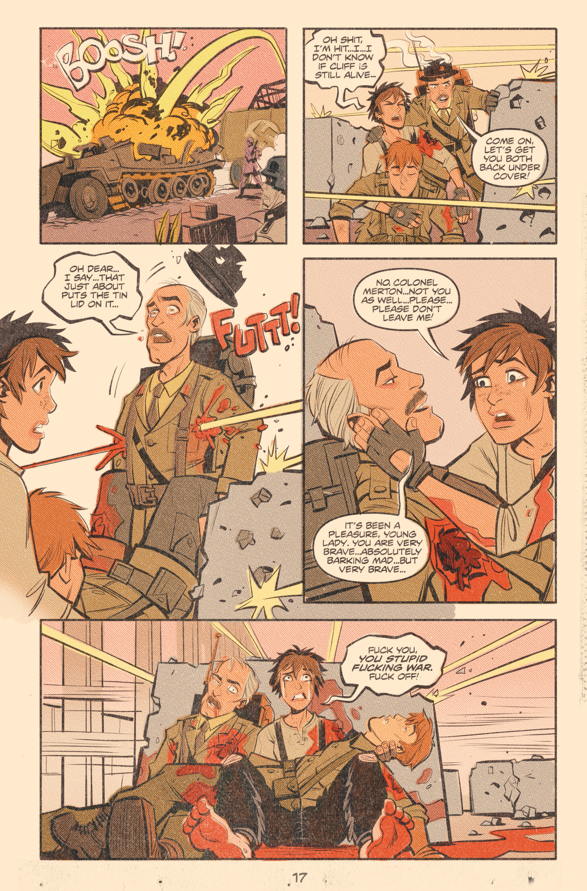Read online Tank Girl: World War Tank Girl comic -  Issue #2 - 19
