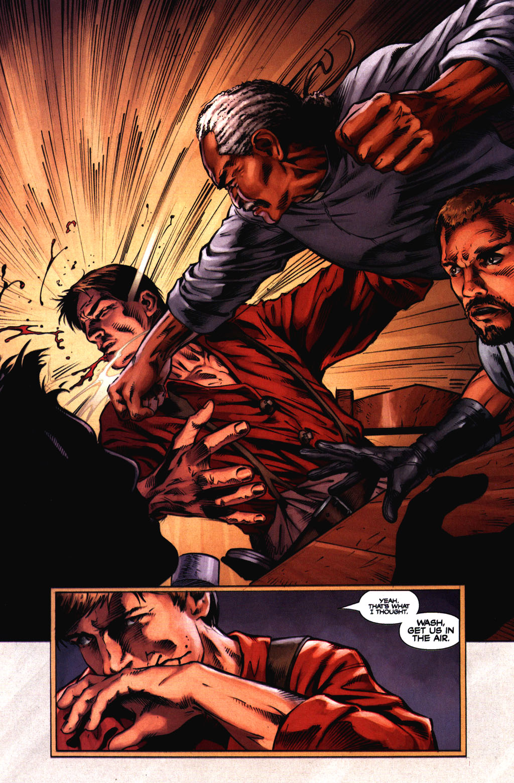 Read online Serenity comic -  Issue #2 - 21