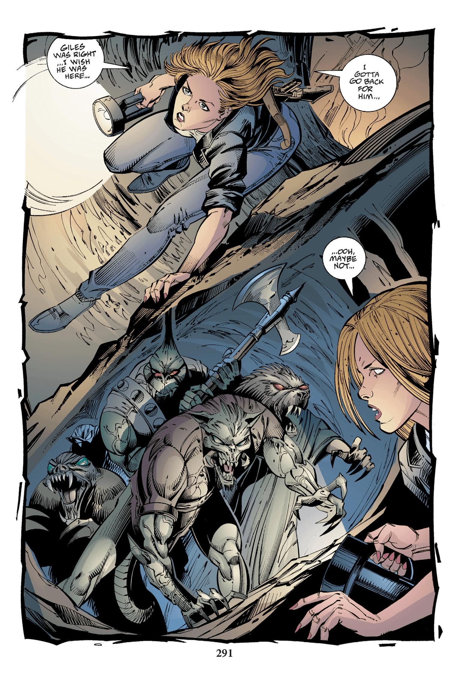 Read online Buffy the Vampire Slayer: Omnibus comic -  Issue # TPB 2 - 283