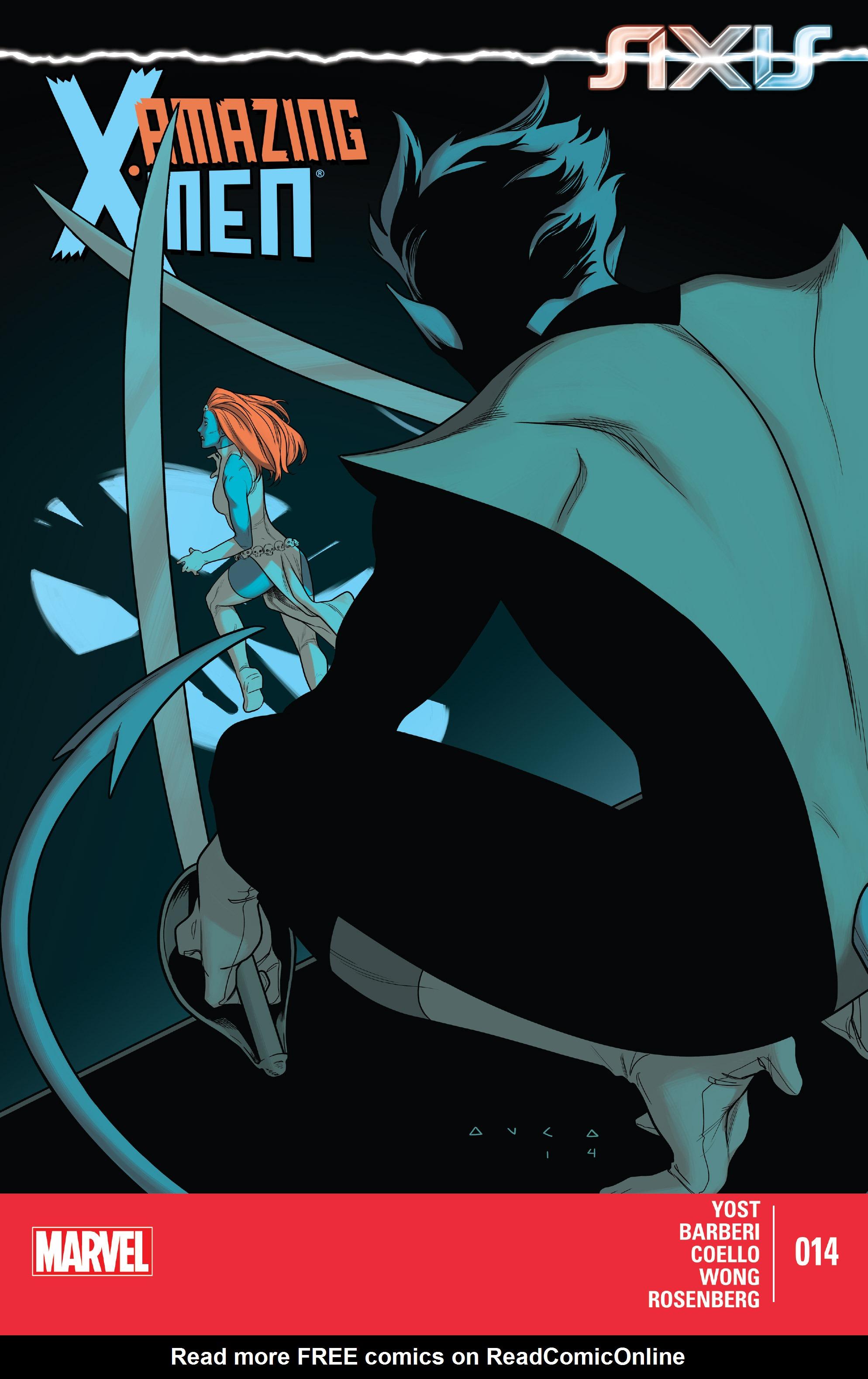 Read online Amazing X-Men (2014) comic -  Issue #14 - 1