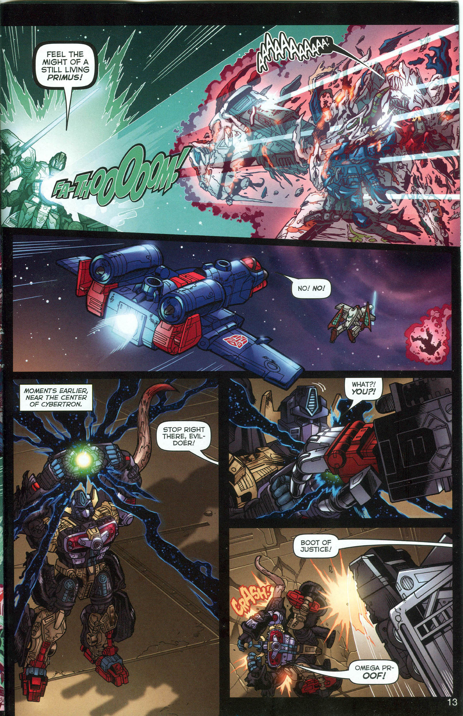 Read online Transformers: Collectors' Club comic -  Issue #7 - 13