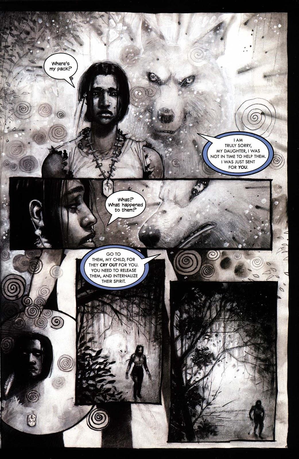 Read online Werewolf the Apocalypse comic -  Issue # Black Furies - 35