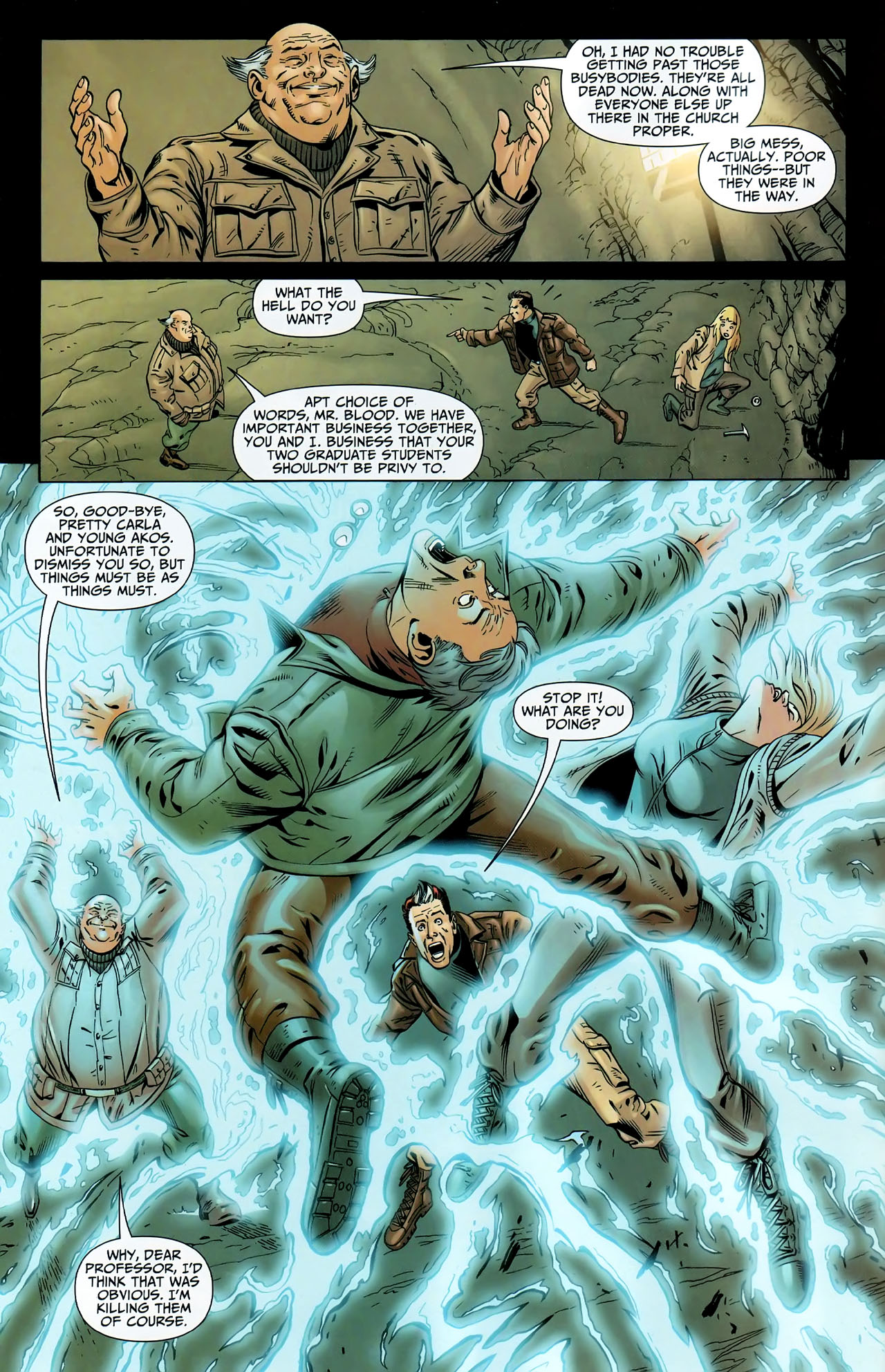 Read online Shadowpact comic -  Issue #9 - 5