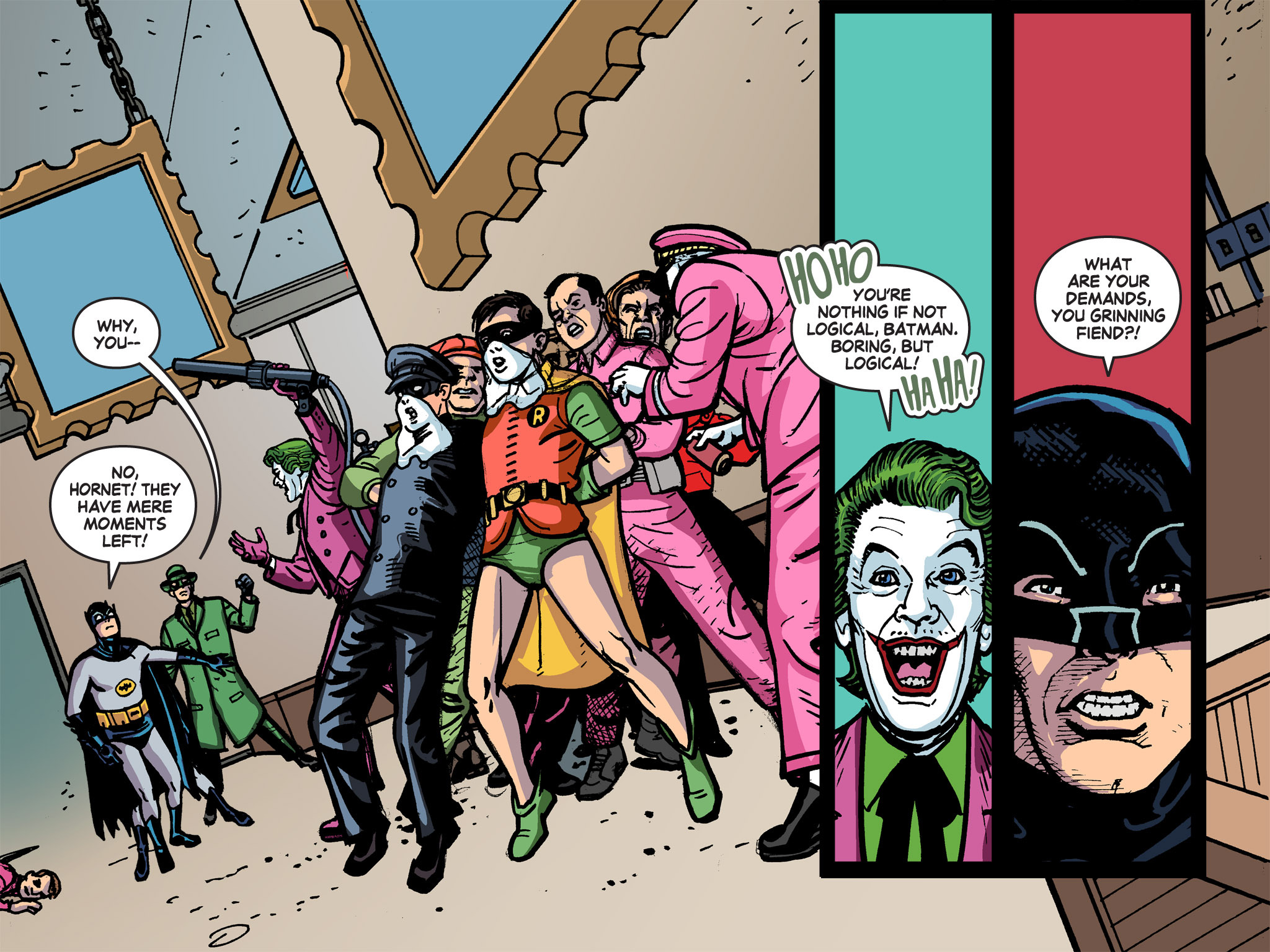 Read online Batman '66 Meets the Green Hornet [II] comic -  Issue #5 - 5