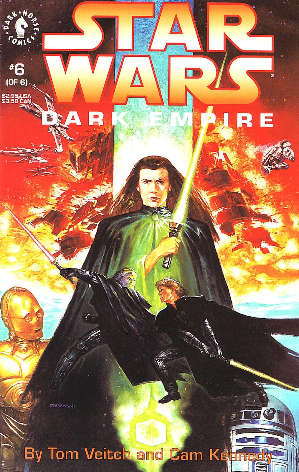 Star Wars: Dark Empire 6 Page 1