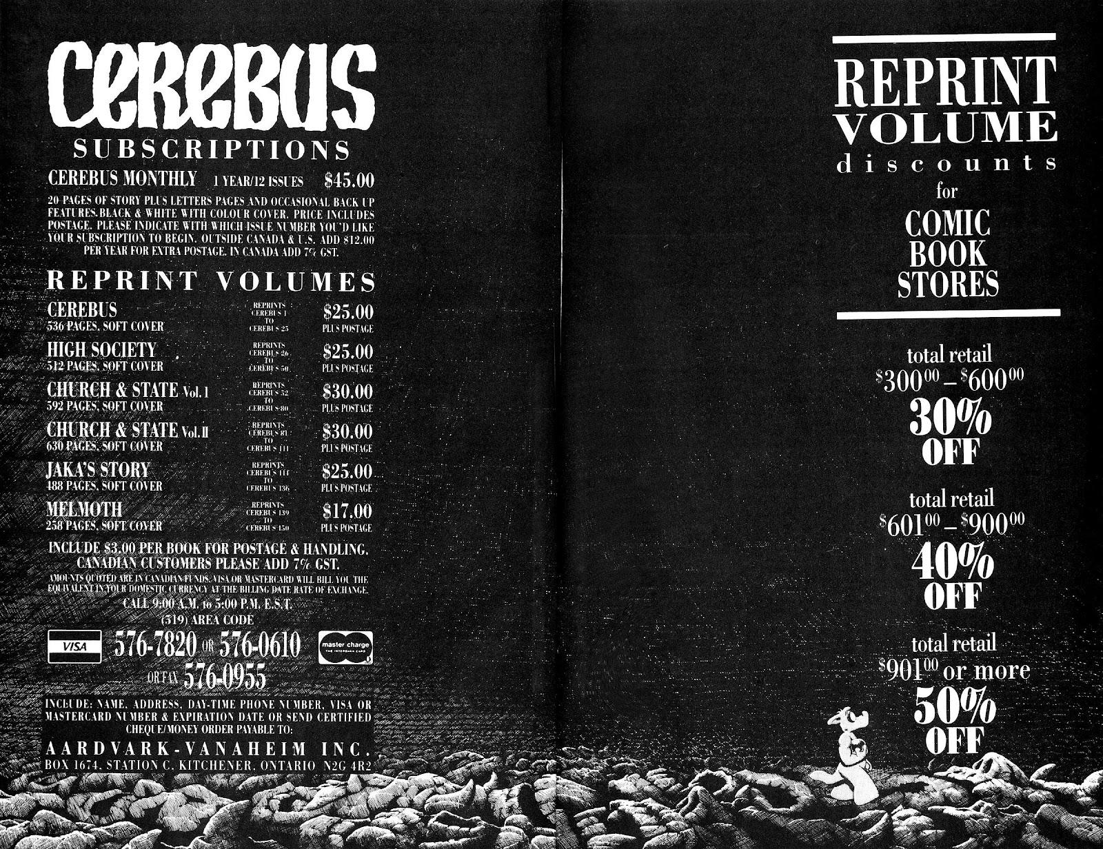 Cerebus Issue #165 #164 - English 24