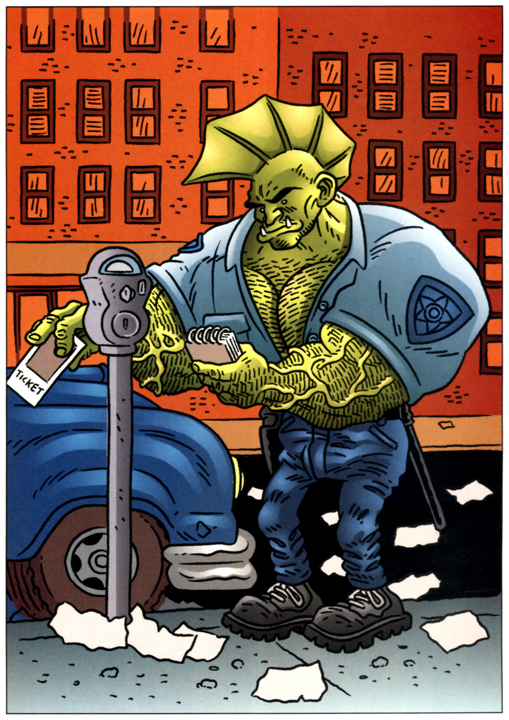 The Savage Dragon (1993) Issue #57 #60 - English 30