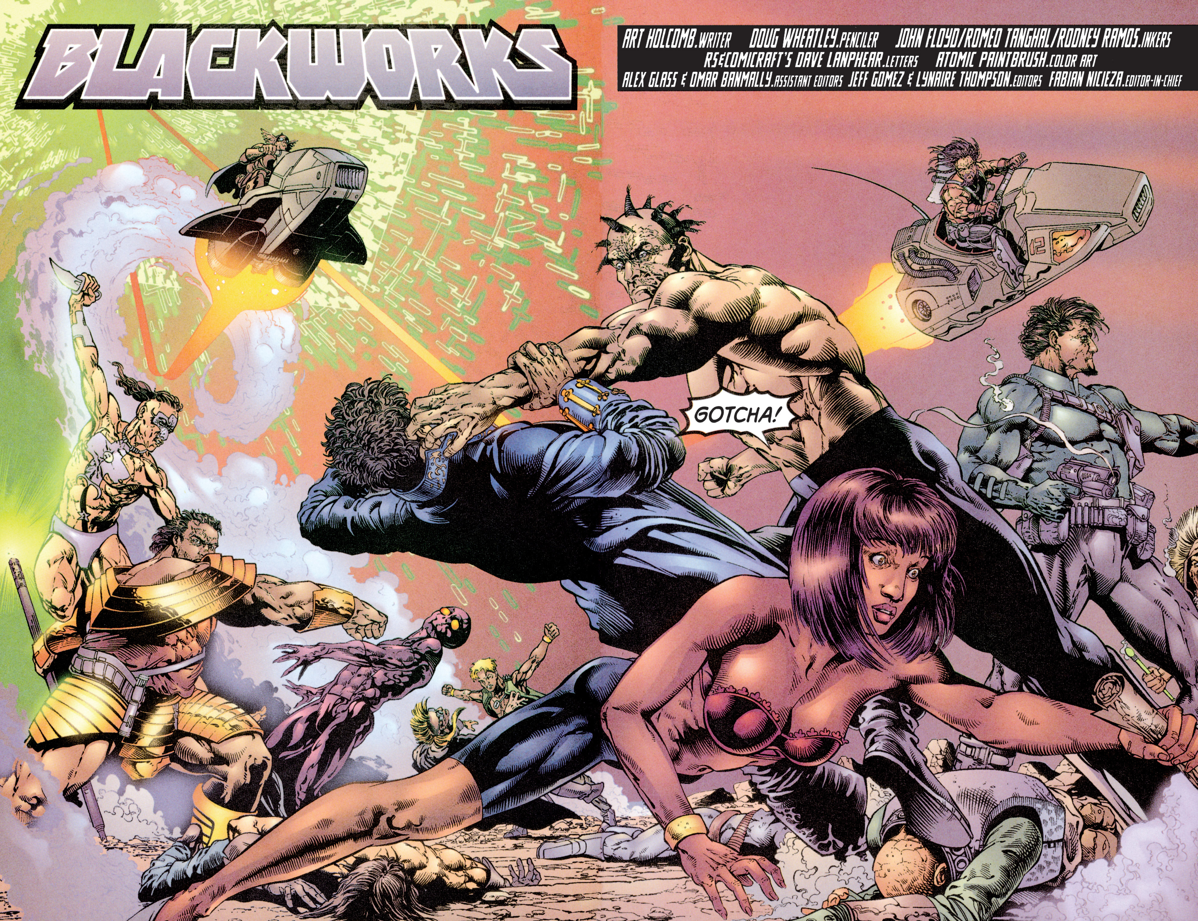 Read online Eternal Warriors comic -  Issue # Issue Blackworks - 3