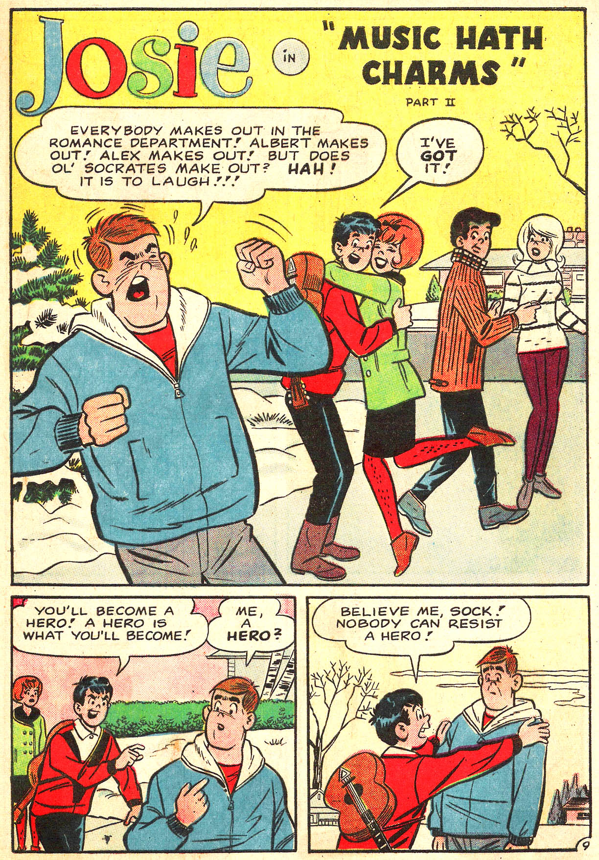 Read online She's Josie comic -  Issue #12 - 13