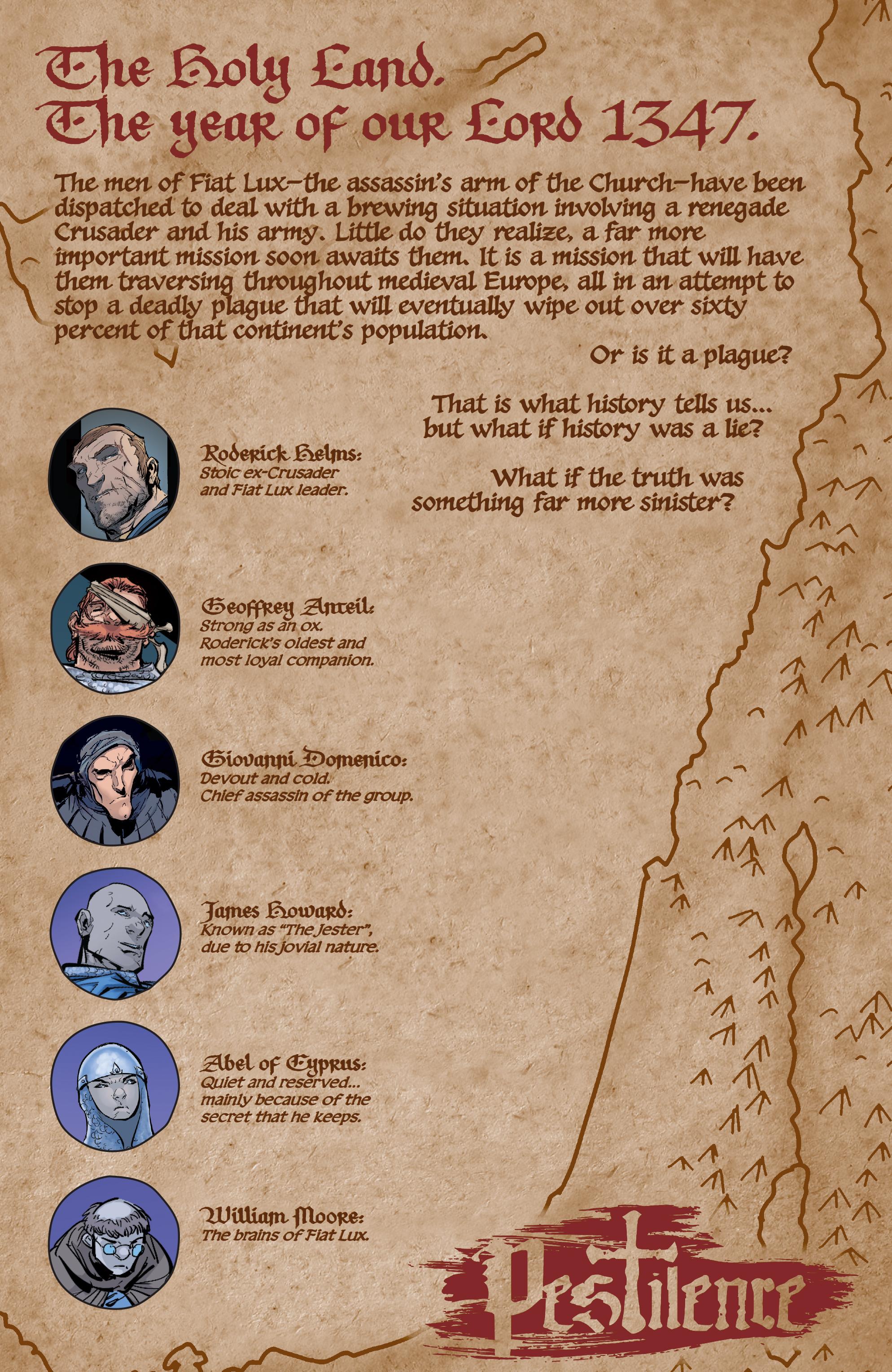 Read online Pestilence comic -  Issue #1 - 3
