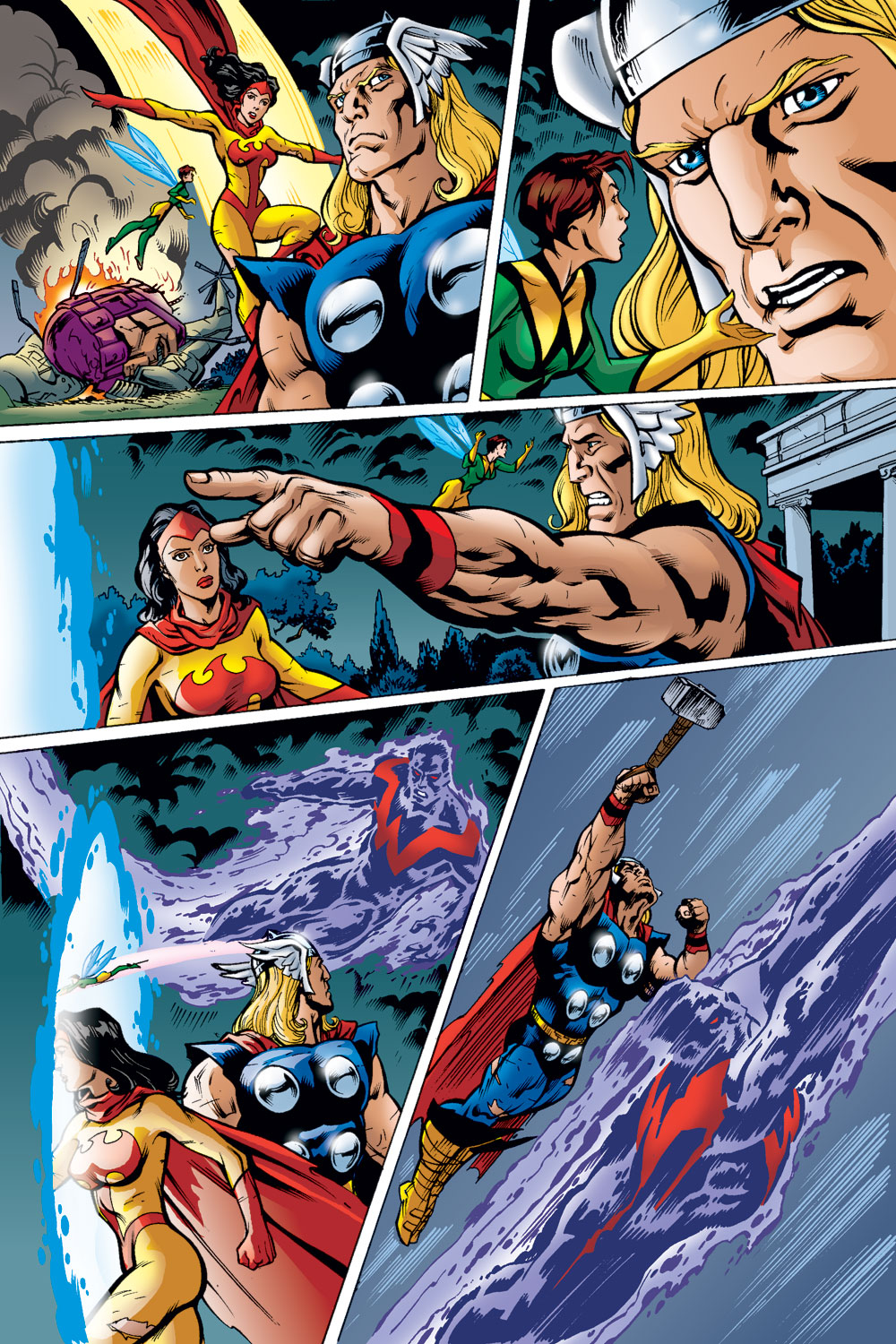 Read online Avengers (1998) comic -  Issue #49 - 17