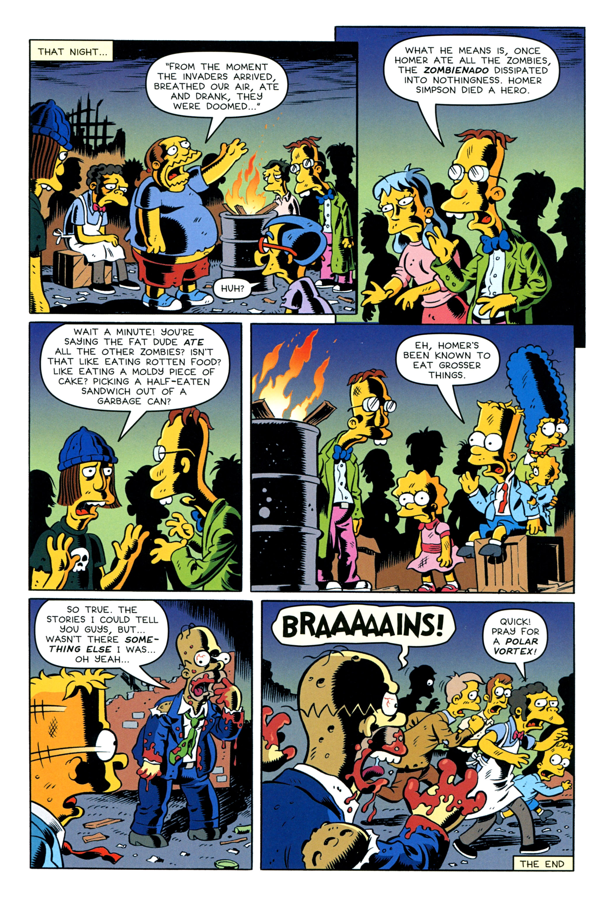 Read online Treehouse of Horror comic -  Issue #20 - 12